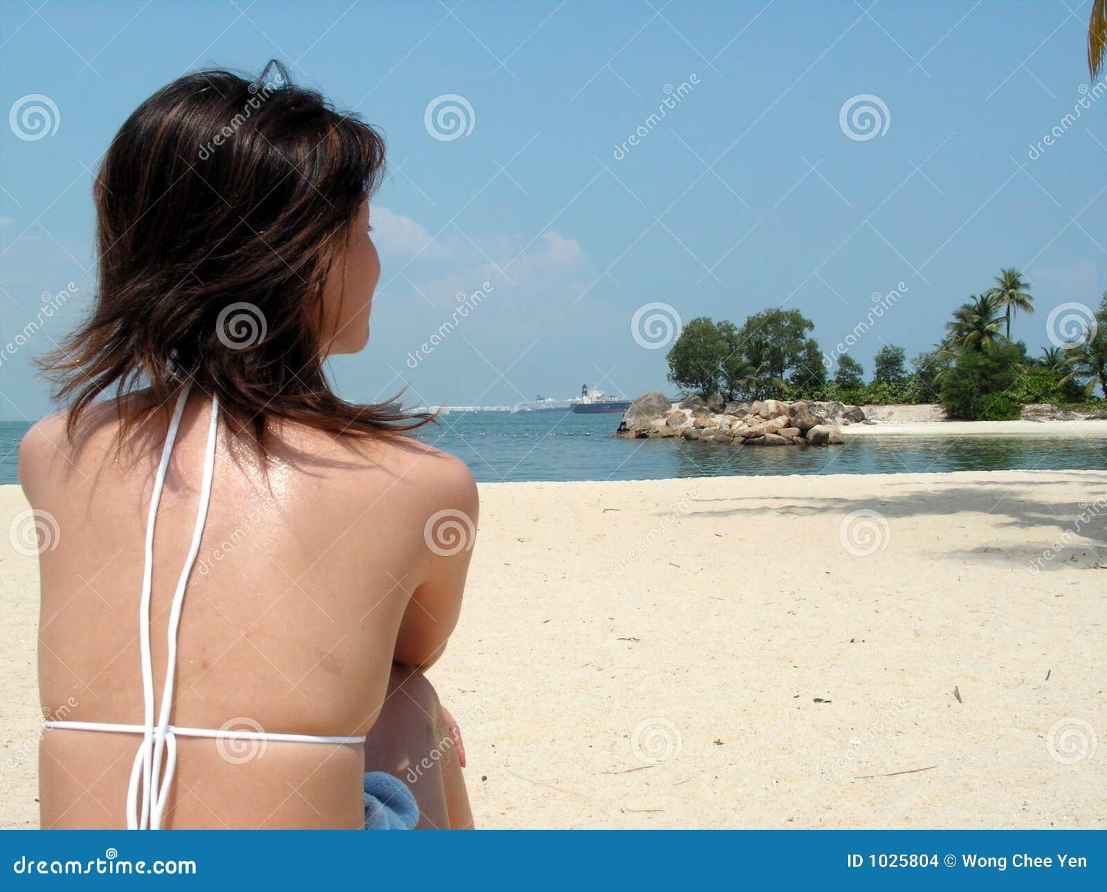 ασιατικό bikini παραλιών
