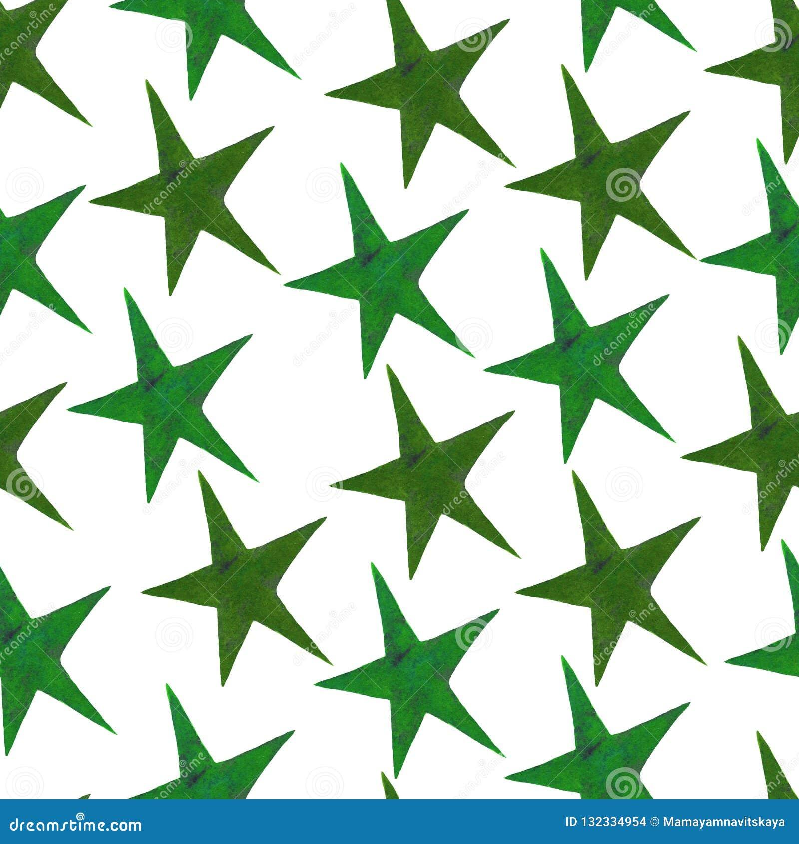 Αστέρια - ένα σύνολο hand-drawn αστεριών watercolor, που απομονώνεται στο λευκό