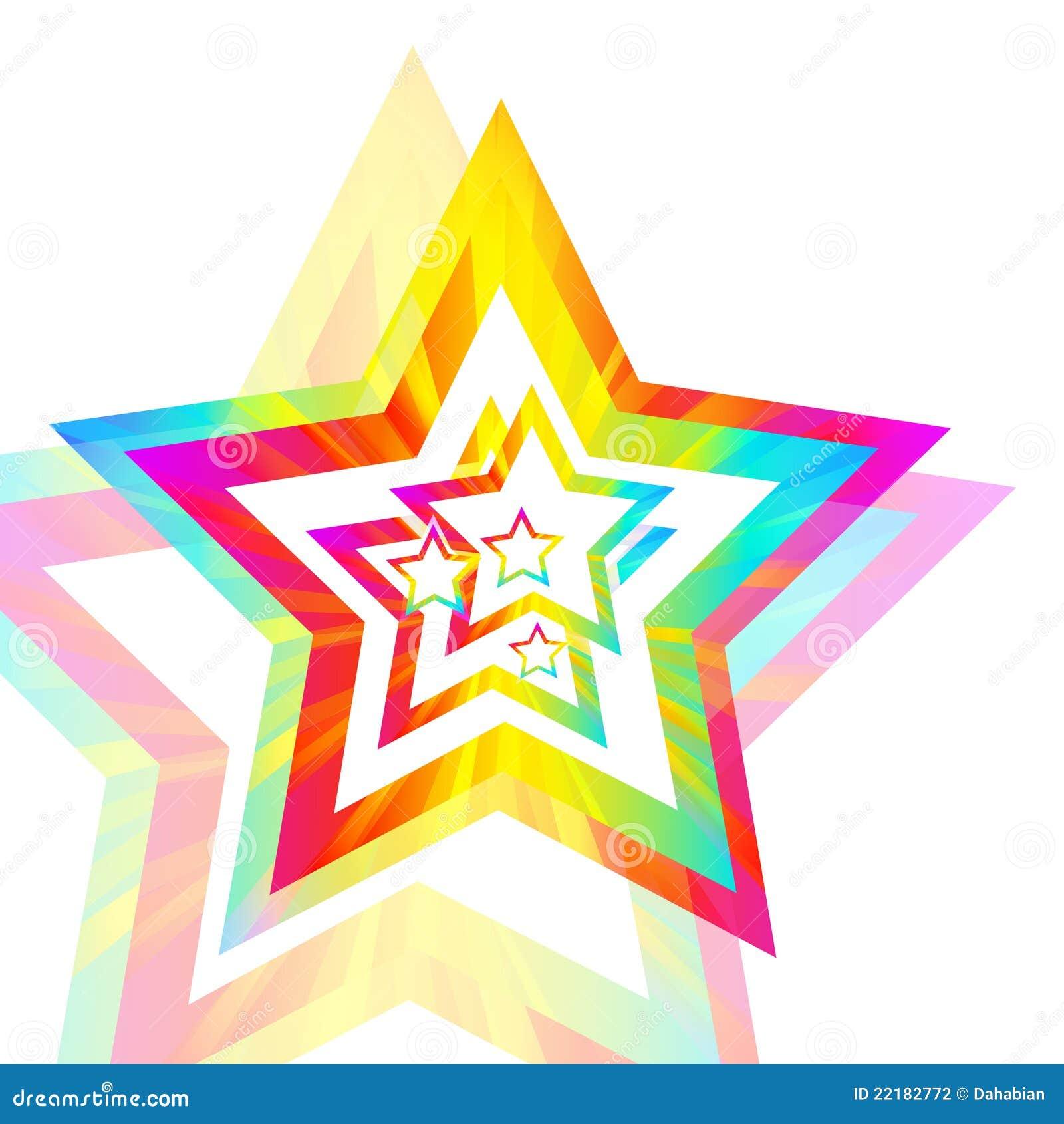 αστέρι ουράνιων τόξων ανασ&kapp