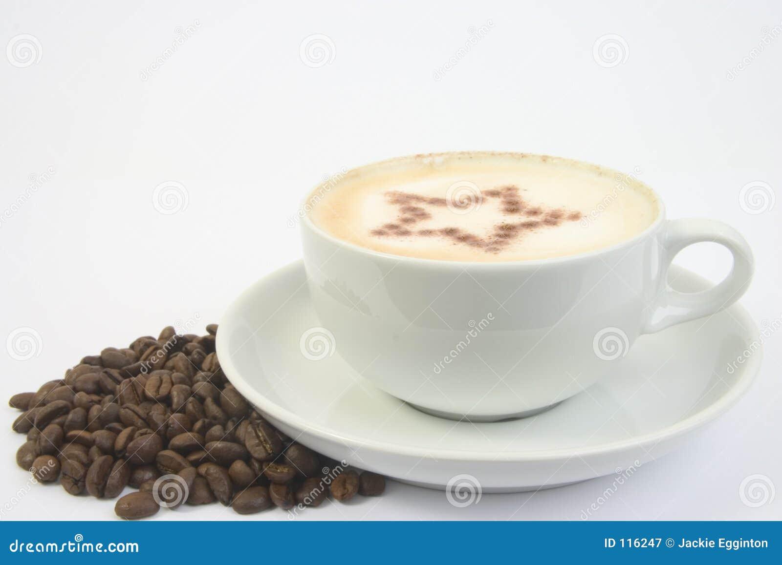 αστέρι φλυτζανιών καφέ