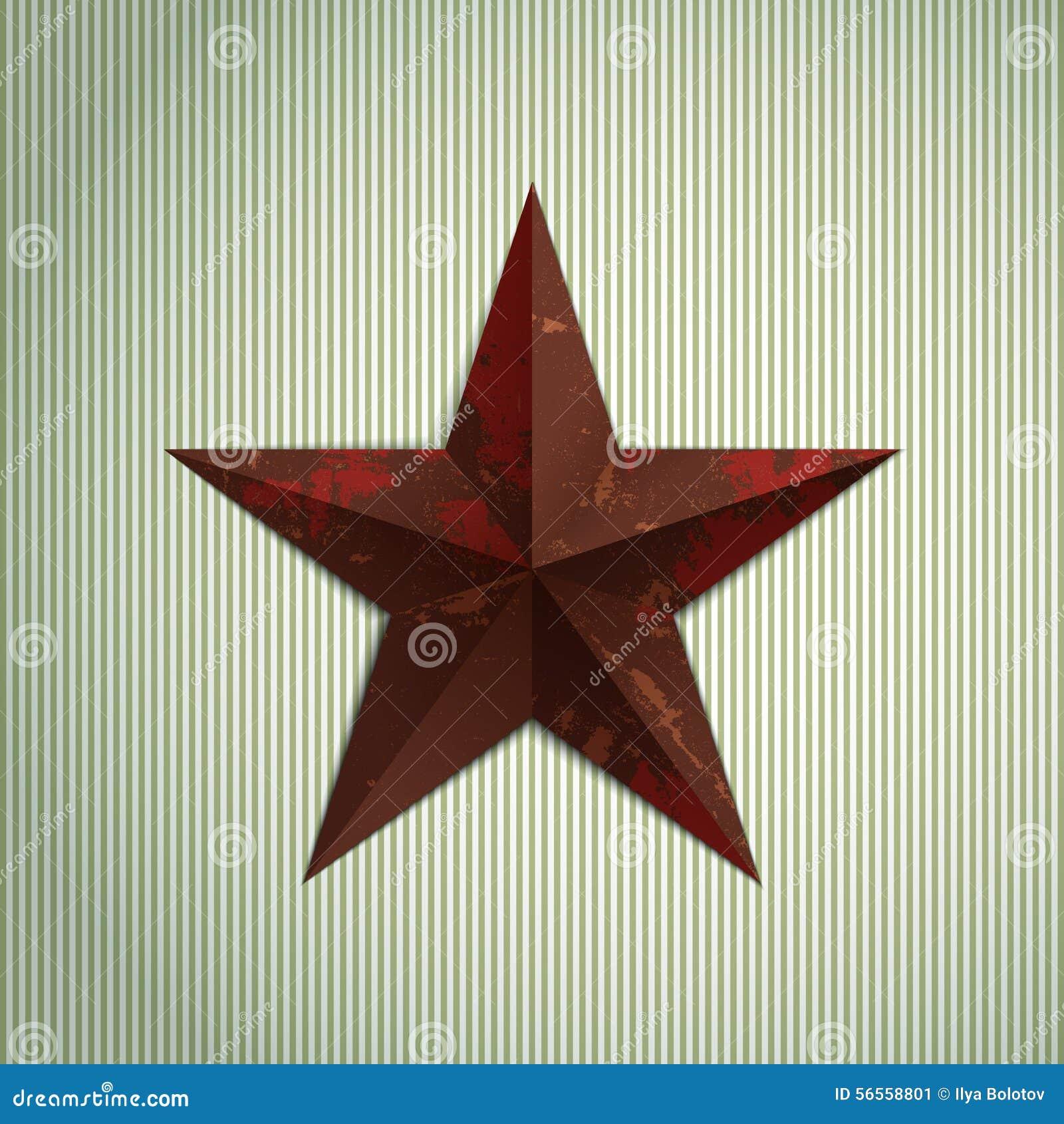 Download Αστέρι Grunge διανυσματική απεικόνιση. εικονογραφία από εικόνα - 56558801