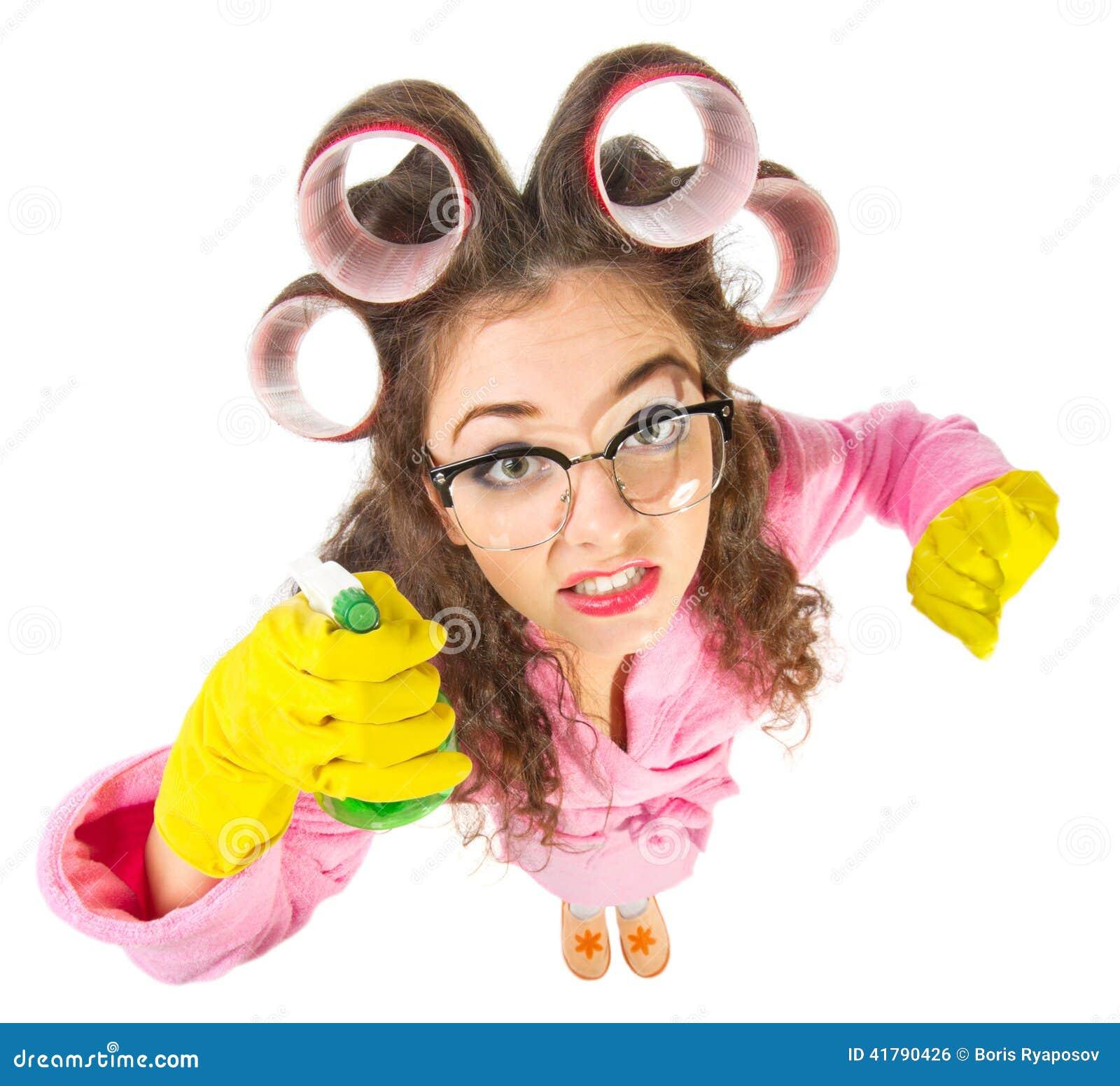2d0508ead8 Αστεία νοικοκυρά με τα γυαλιά Nerd Στοκ Εικόνες - εικόνα από closeup ...