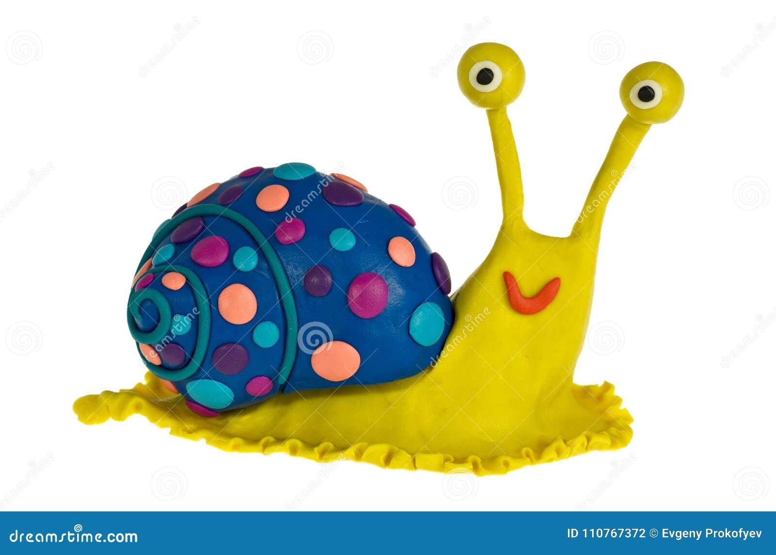 Αστείο σαλιγκάρι plasticine