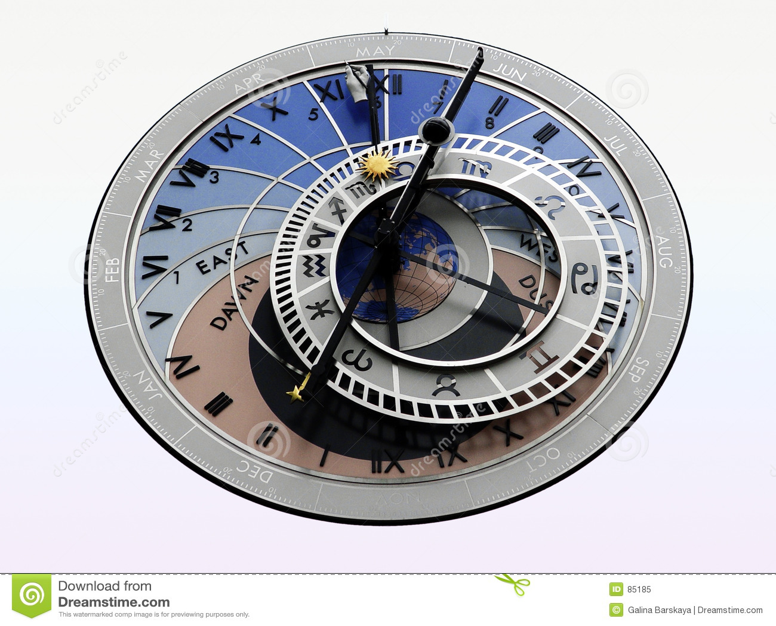 αστρολογικό ρολόι