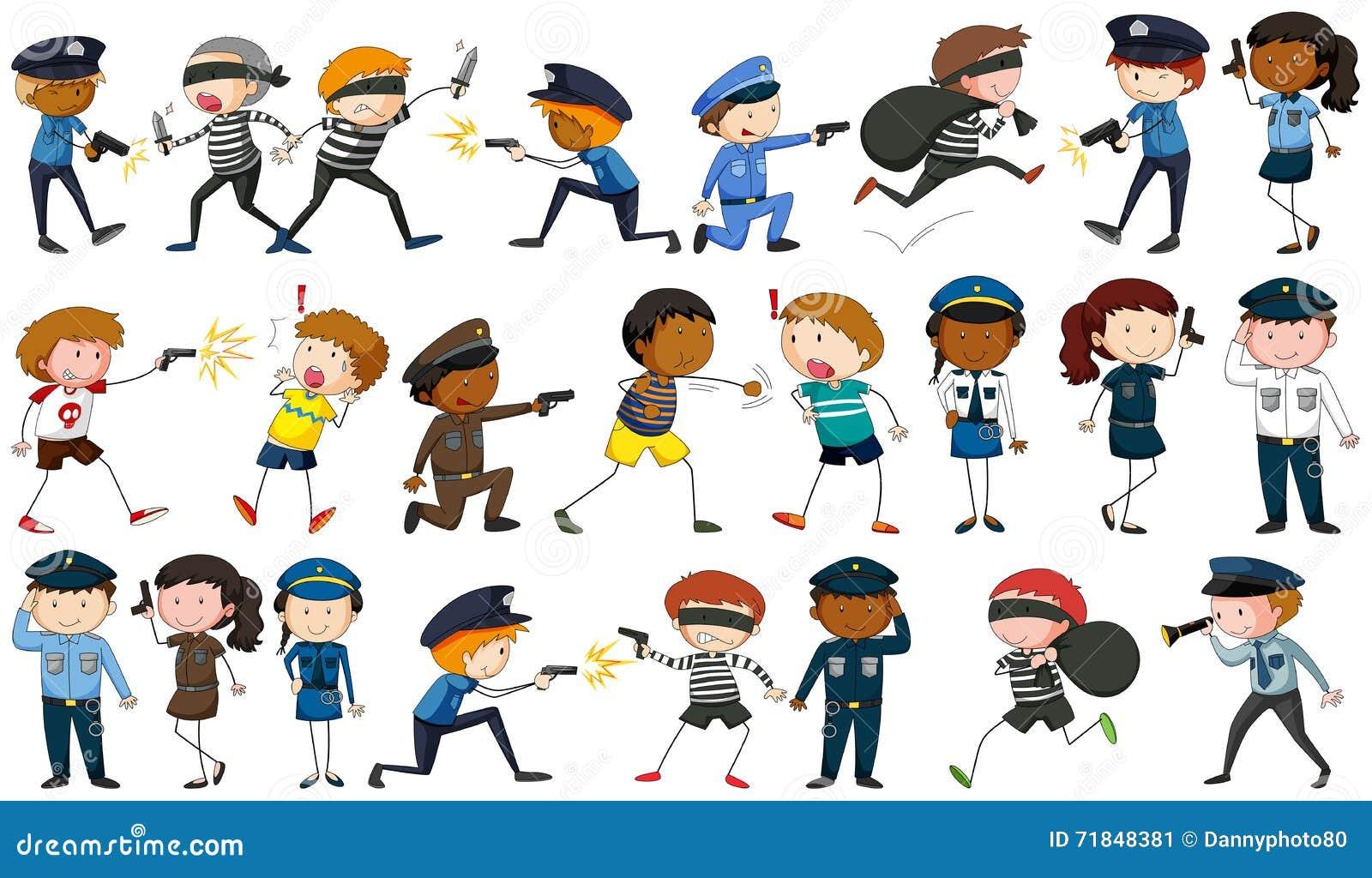 Αστυνομικός και εγκληματικοί χαρακτήρες