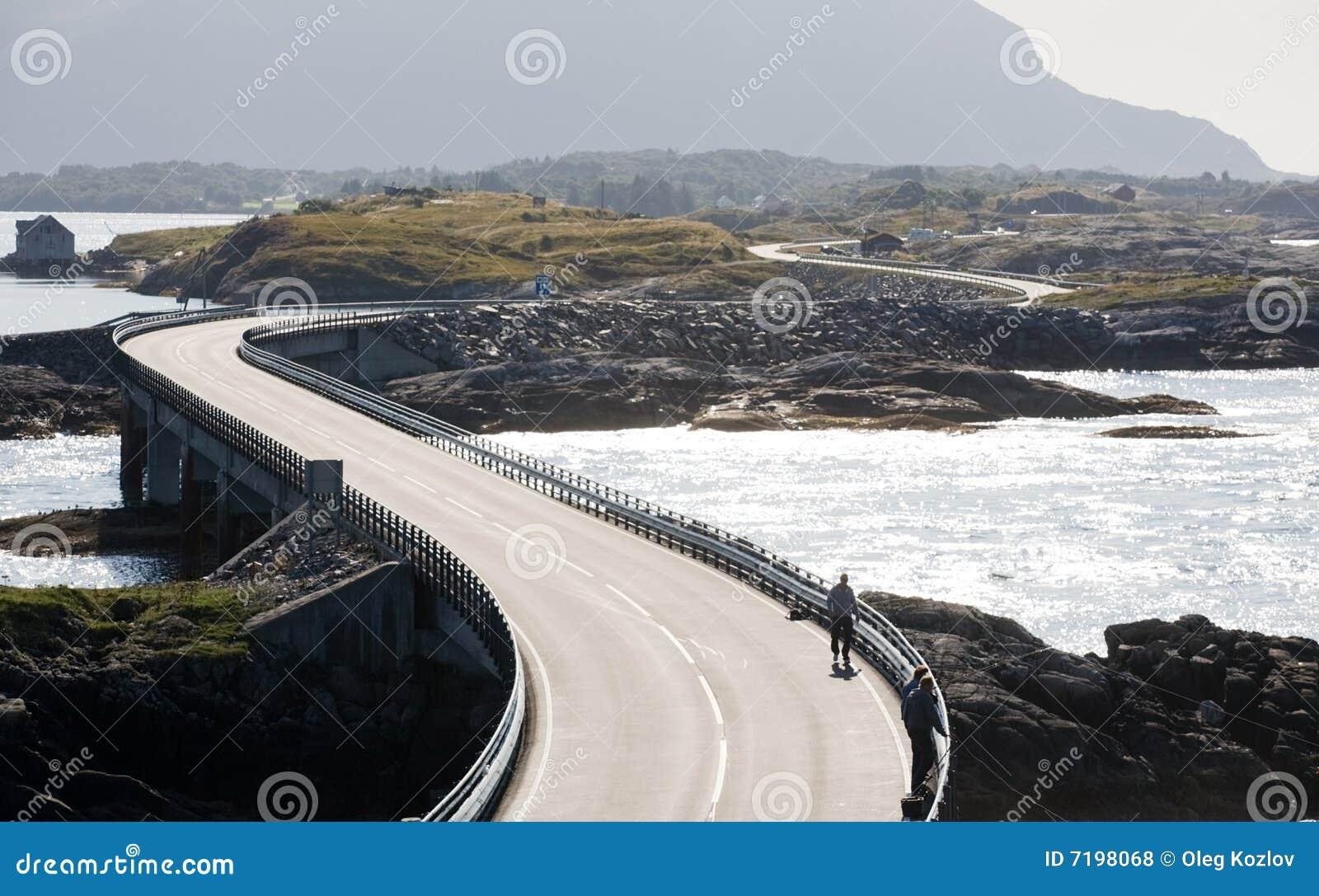 ατλαντικός δρόμος της Νο&rho