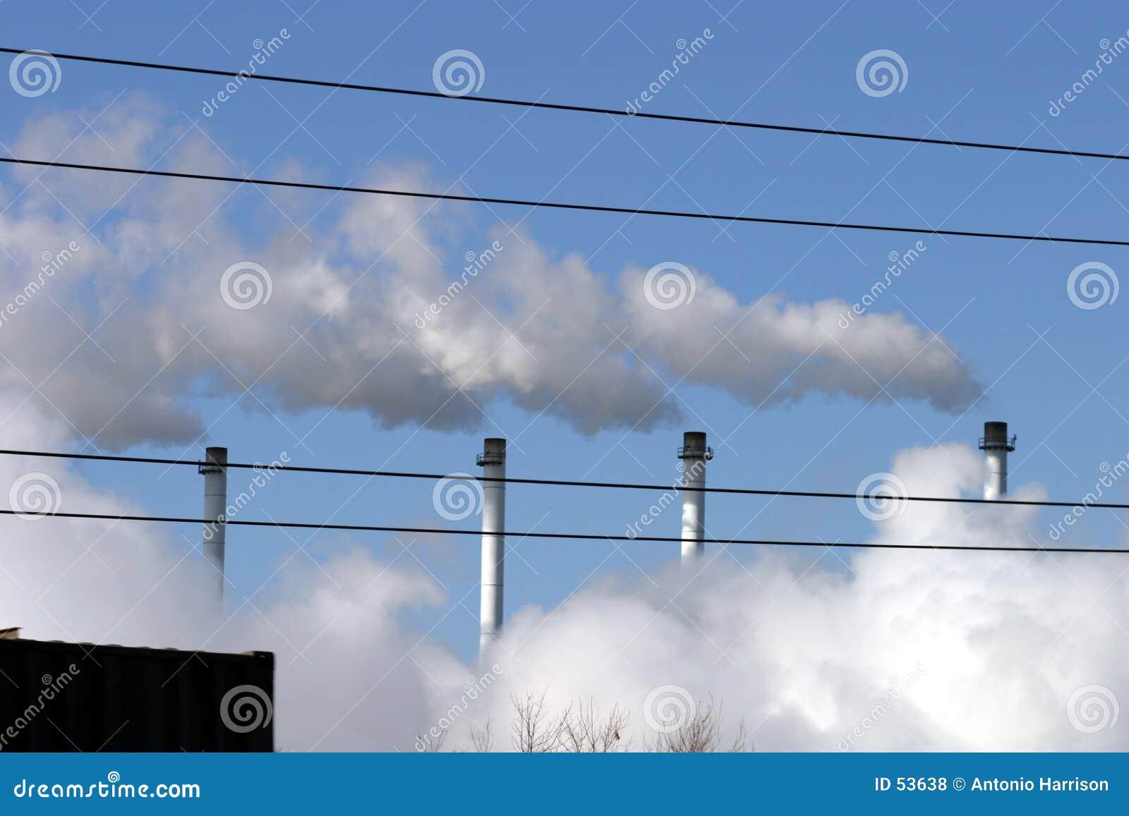 Download ατμός στοκ εικόνες. εικόνα από σωλήνες, εργοστάσιο, βιομηχανία - 53638