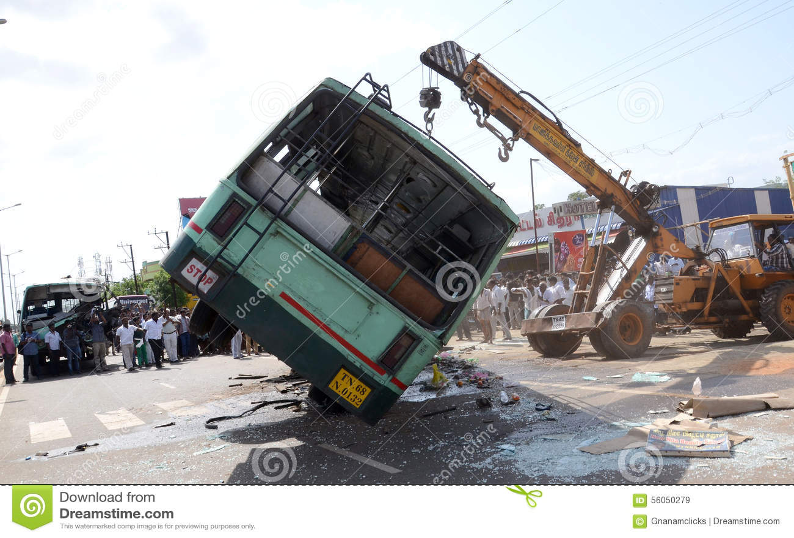 Ατύχημα λεωφορείων