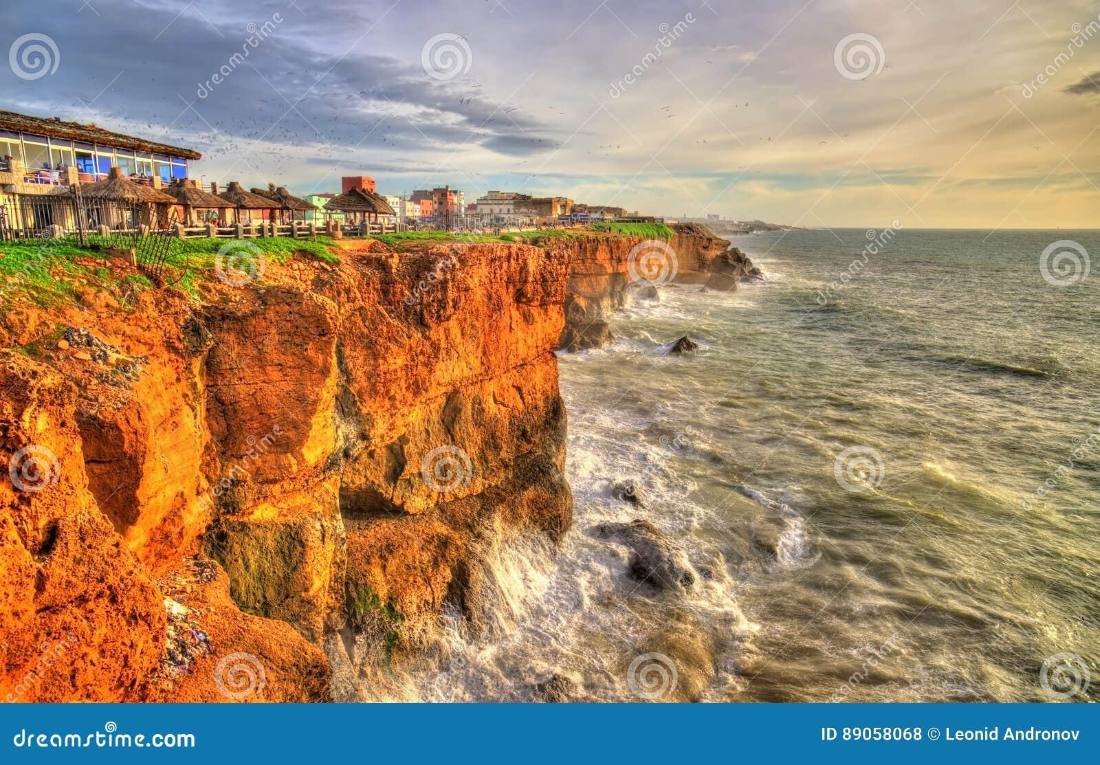 Ατλαντική ακτή στην πόλη Safi στο Μαρόκο