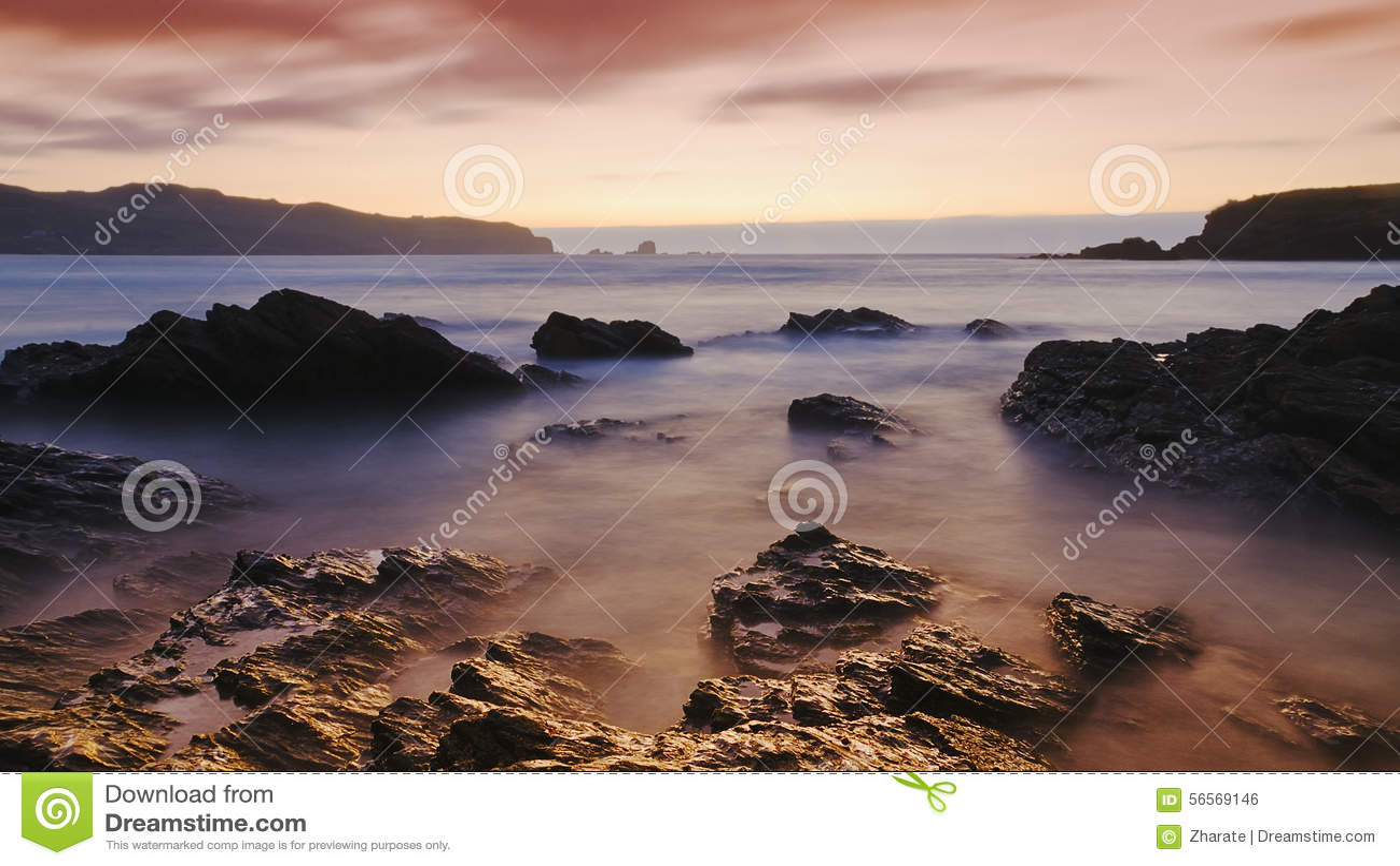Download ατλαντικό ηλιοβασίλεμα & στοκ εικόνες. εικόνα από καλοκαίρι - 56569146