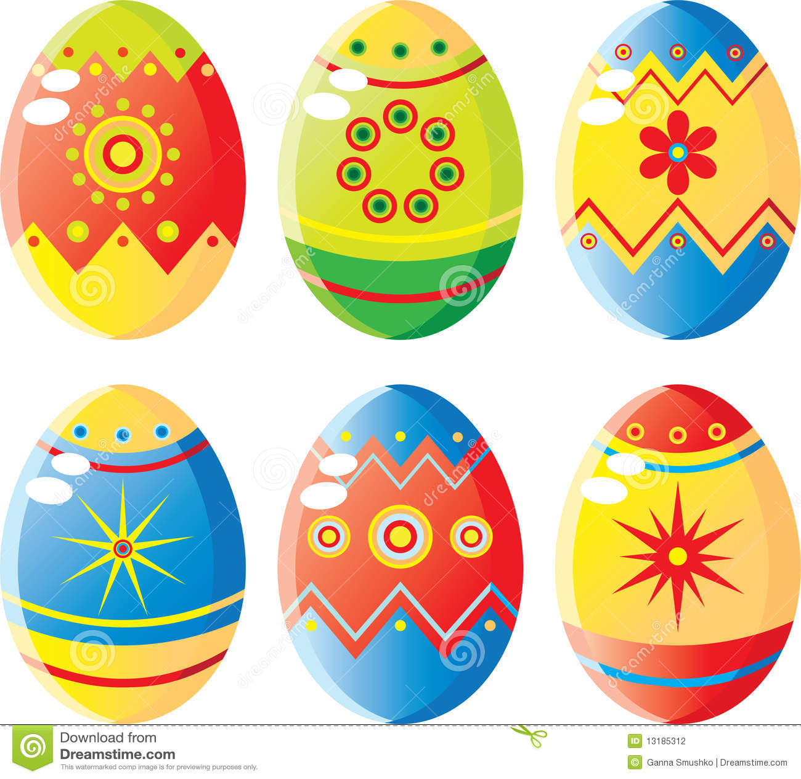 αυγά Πάσχας που τίθενται
