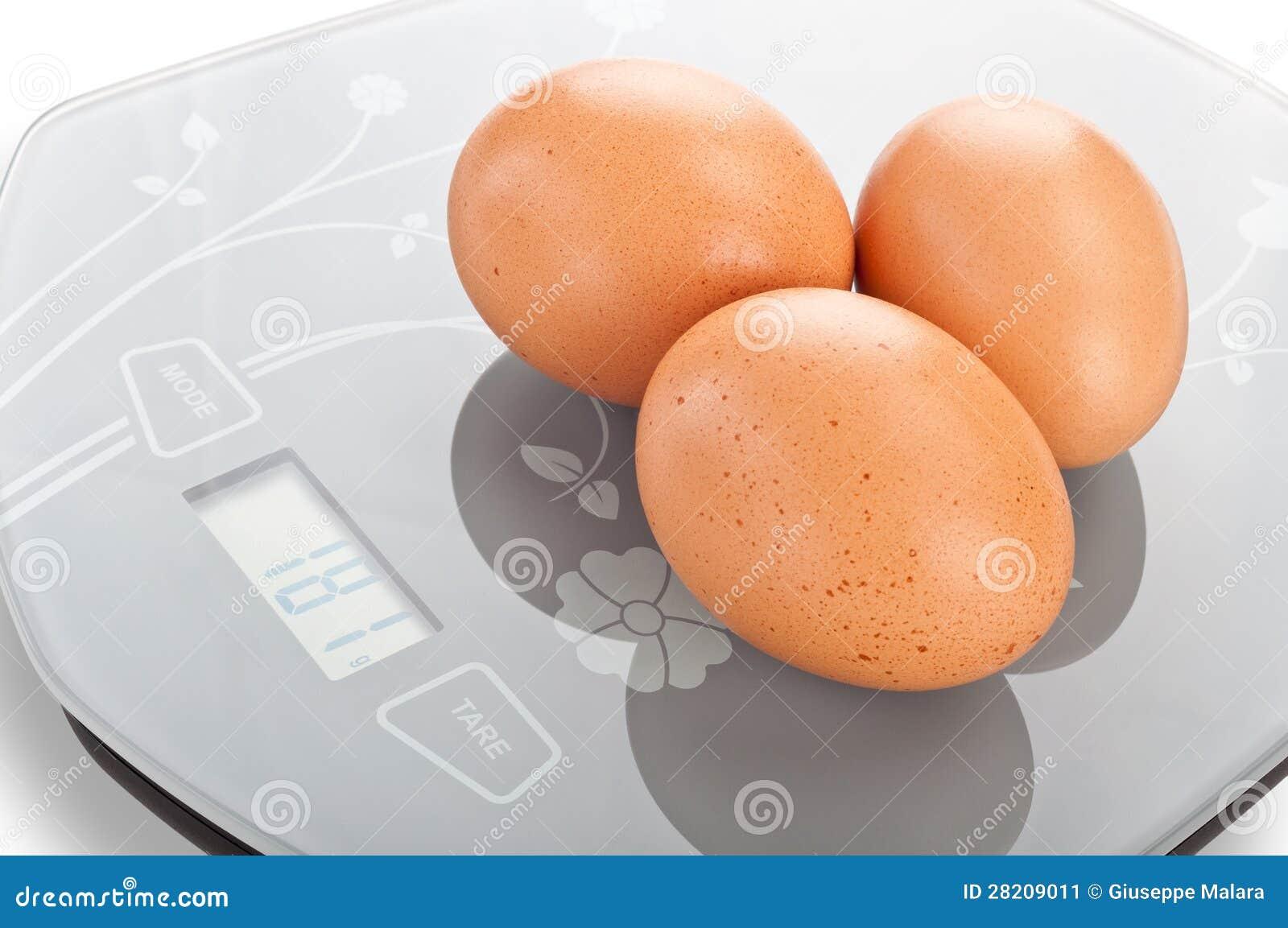 Αυγά στην κλίμακα.