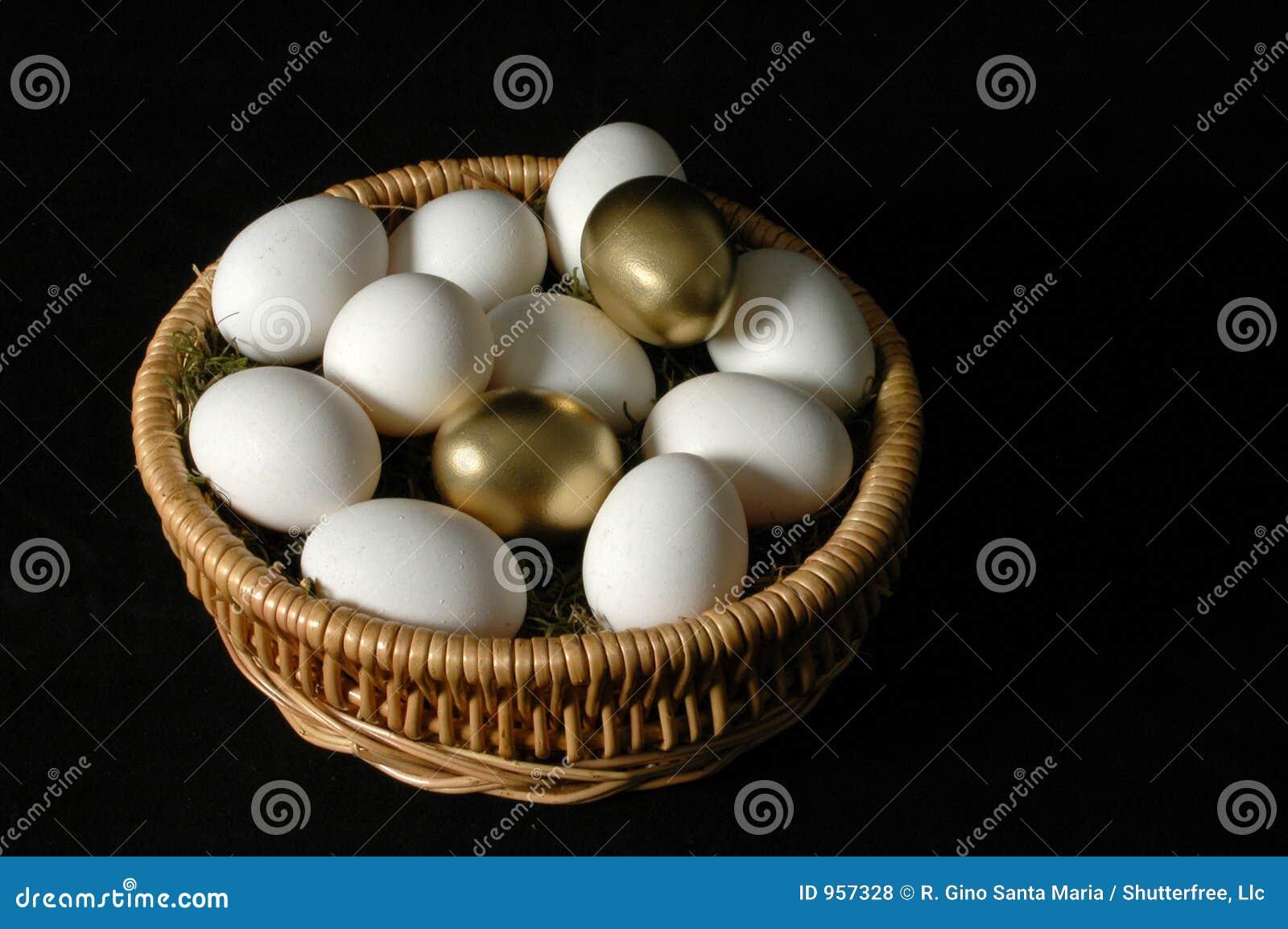 αυγά χρυσά