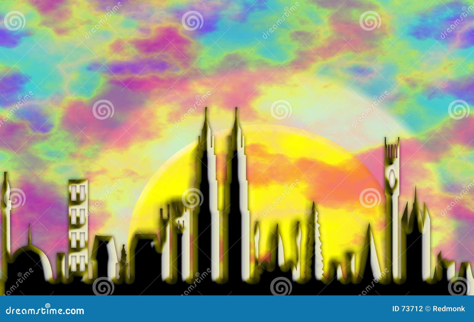 αυγή πόλεων