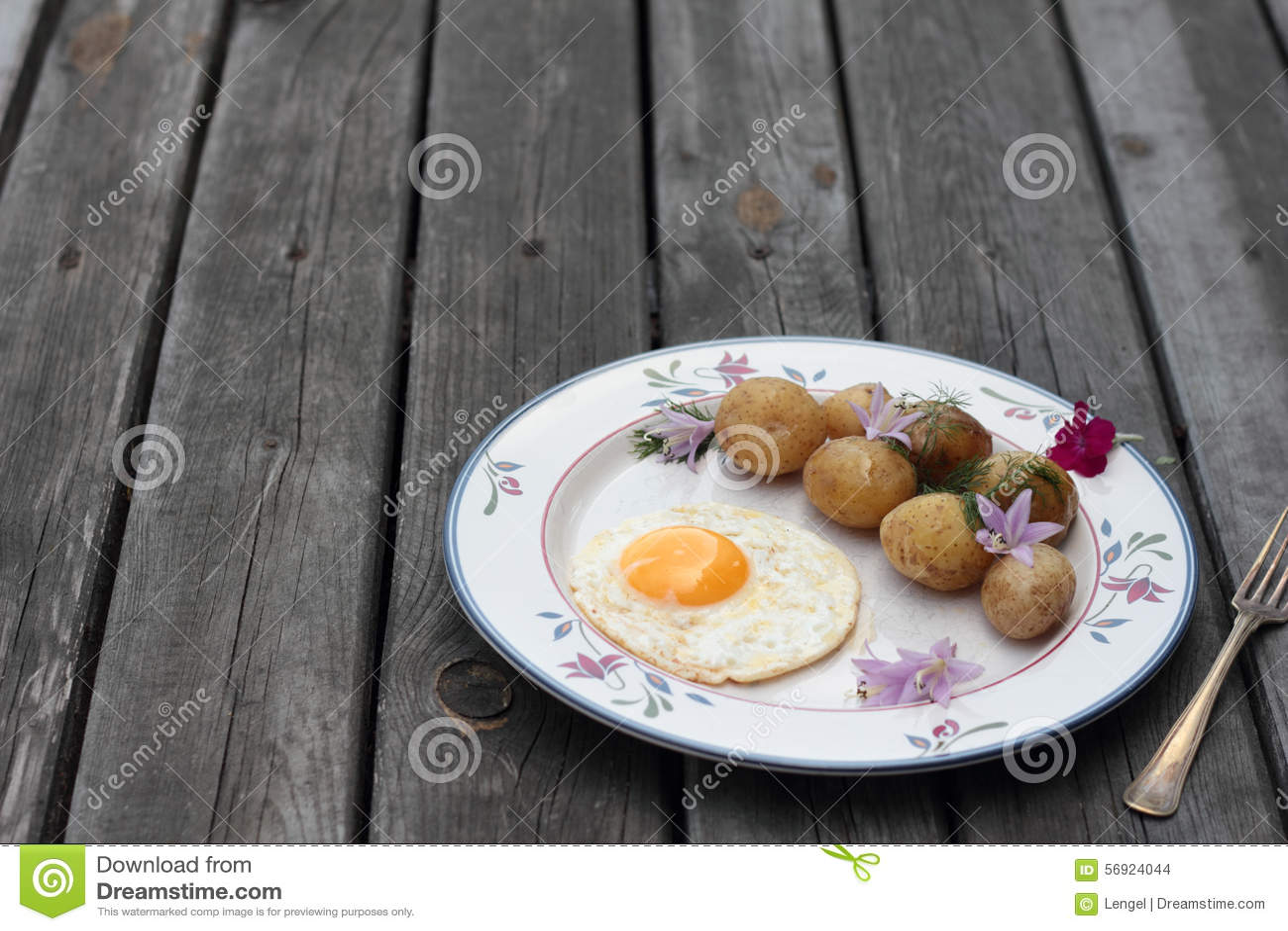 αυγό που τηγανίζεται