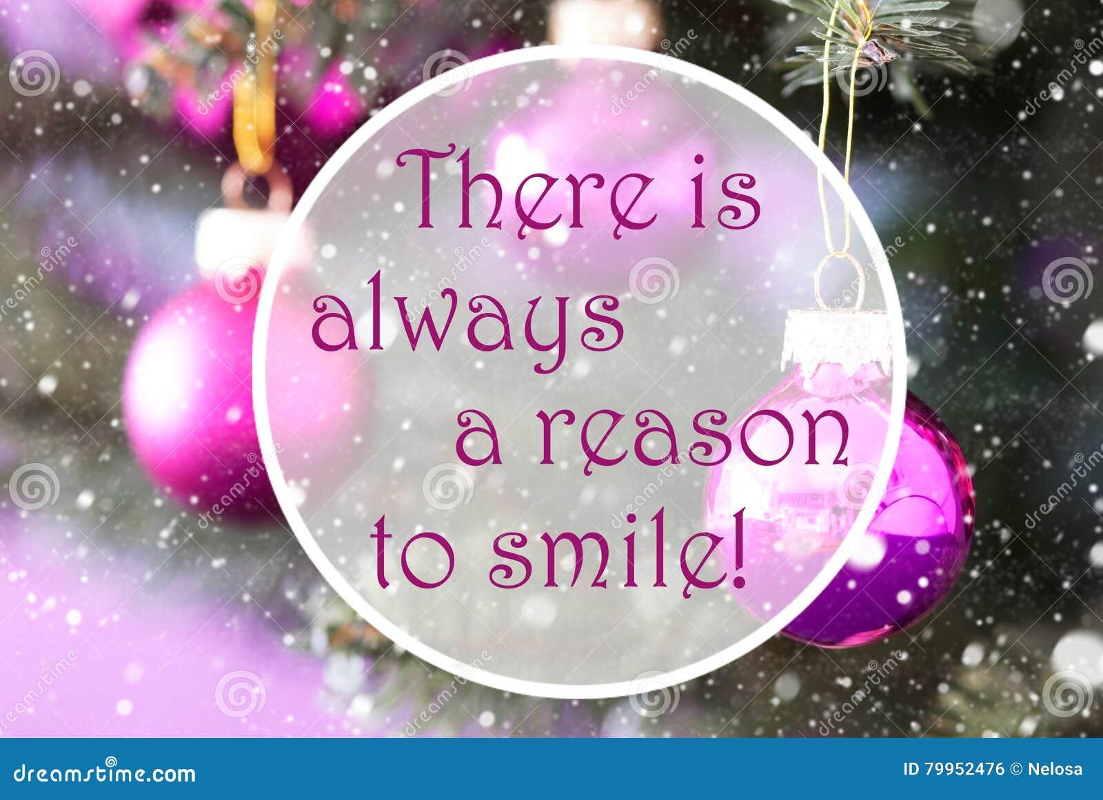 Αυξήθηκε σφαίρες Χριστουγέννων χαλαζία, λόγος αποσπάσματος πάντα να χαμογελάσει