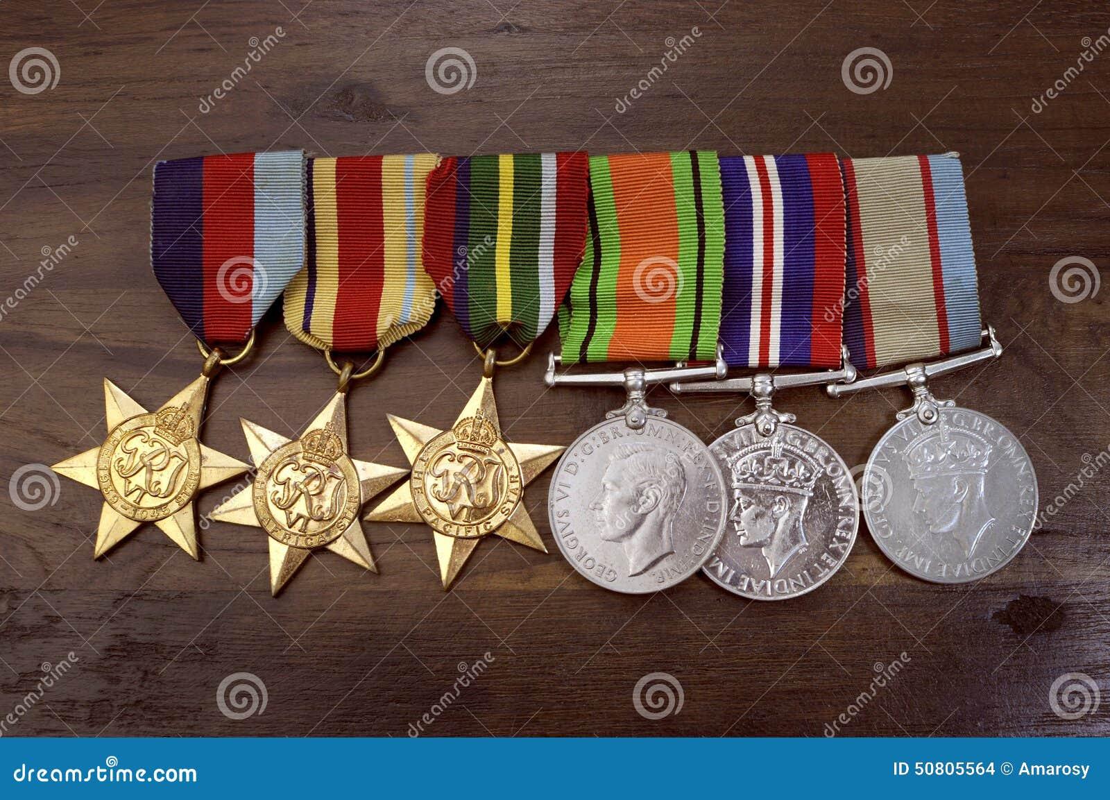 Αυστραλιανά μετάλλια εκστρατείας Δεύτερου Παγκόσμιου Πολέμου στρατού