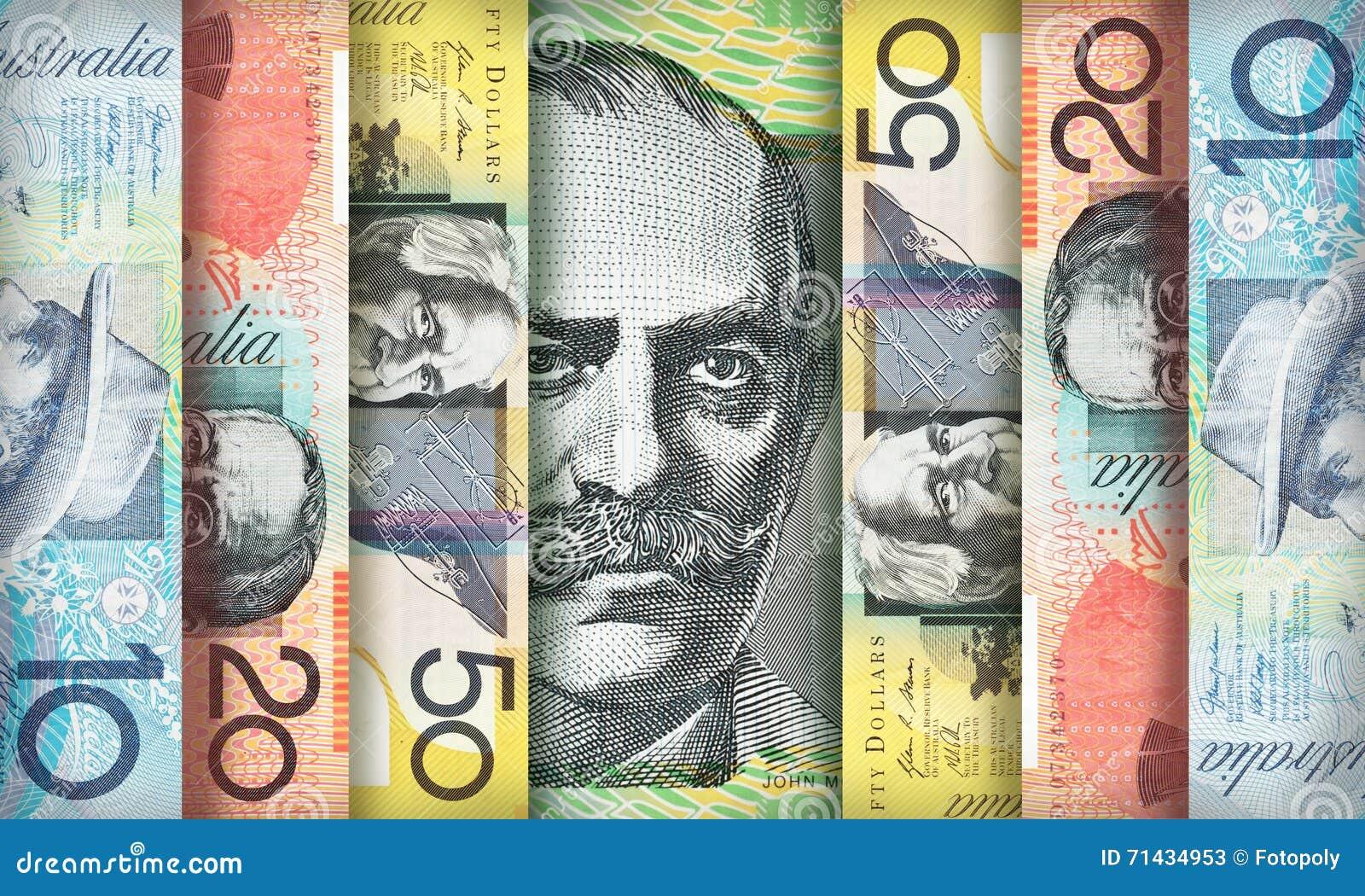 Αυστραλιανό υπόβαθρο δολαρίων