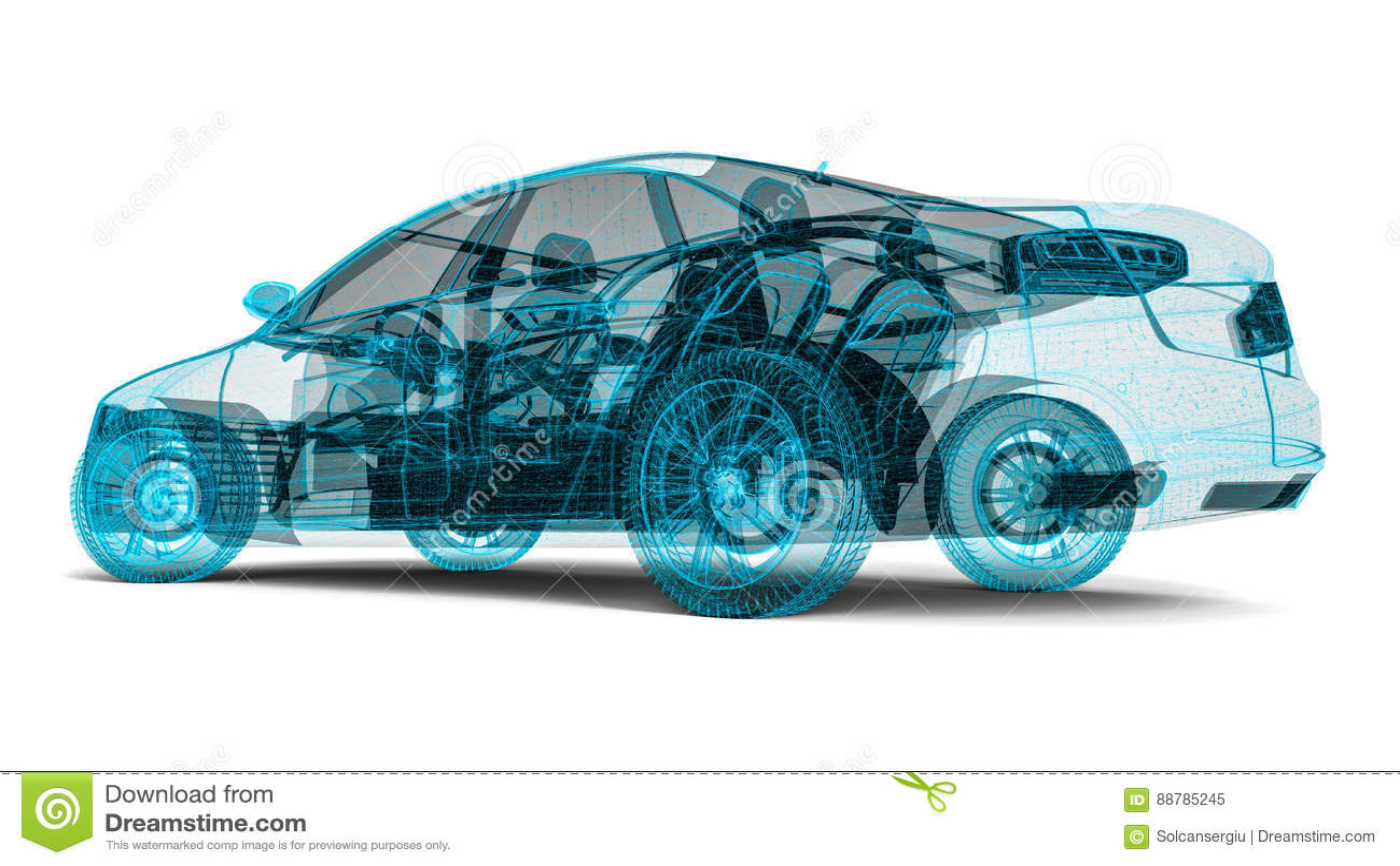 Αυτοκίνητο πλαισίων καλωδίων