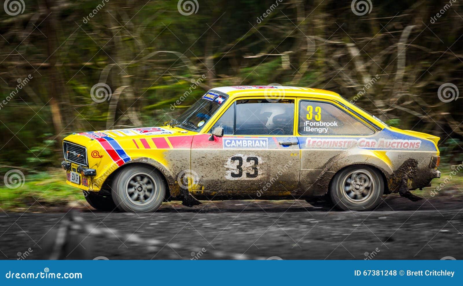 Αυτοκίνητο συνάθροισης Ford Escort MKII