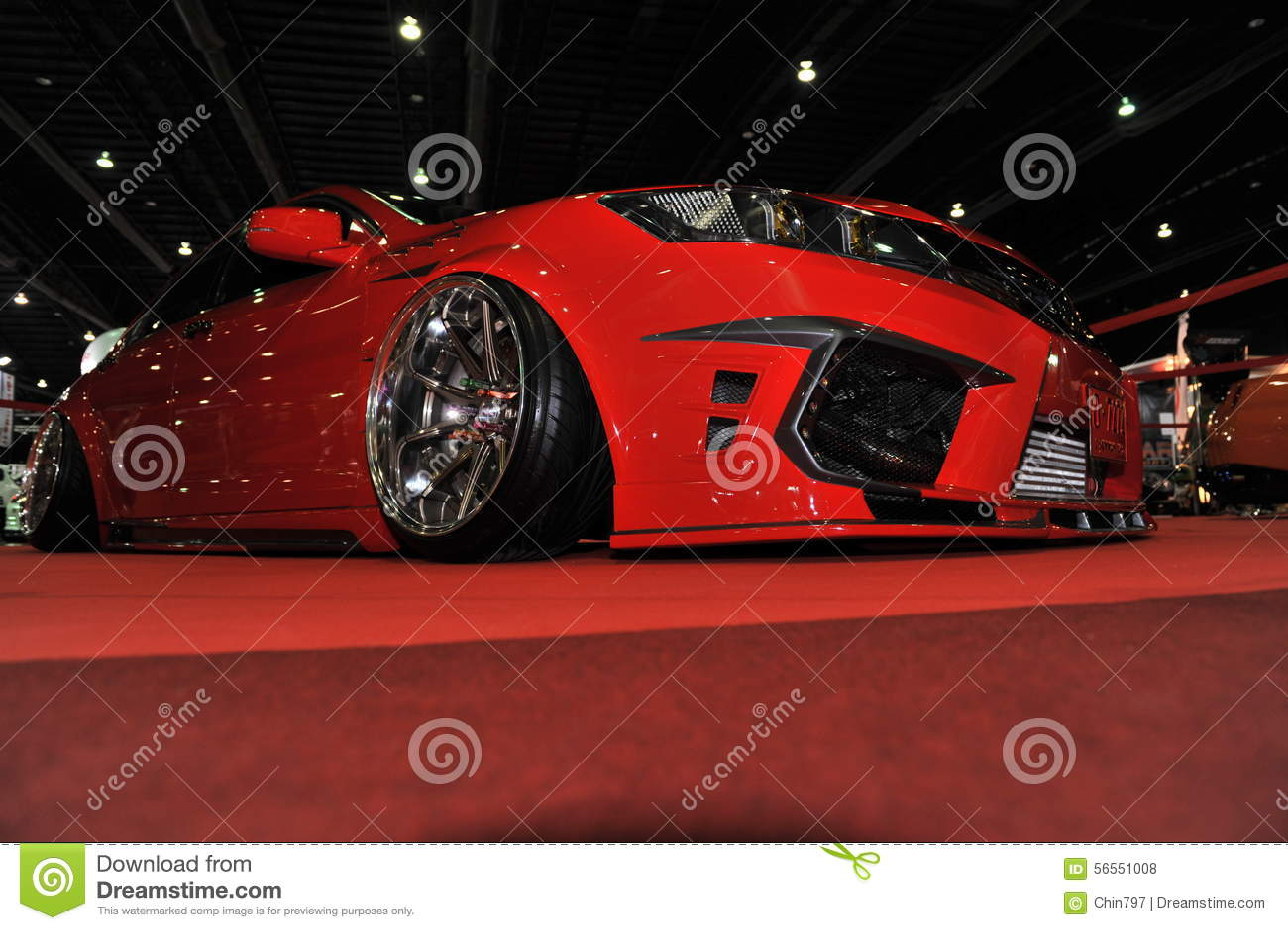 Download Αυτοκίνητο της Honda στο 3$ο διεθνές Autosalon 2015 της Μπανγκόκ στις 27 Ιουνίου 2015 στη Μπανγκόκ, Ταϊλάνδη Εκδοτική Στοκ Εικόνες - εικόνα από μόδα, αυτοκίνητο: 56551008