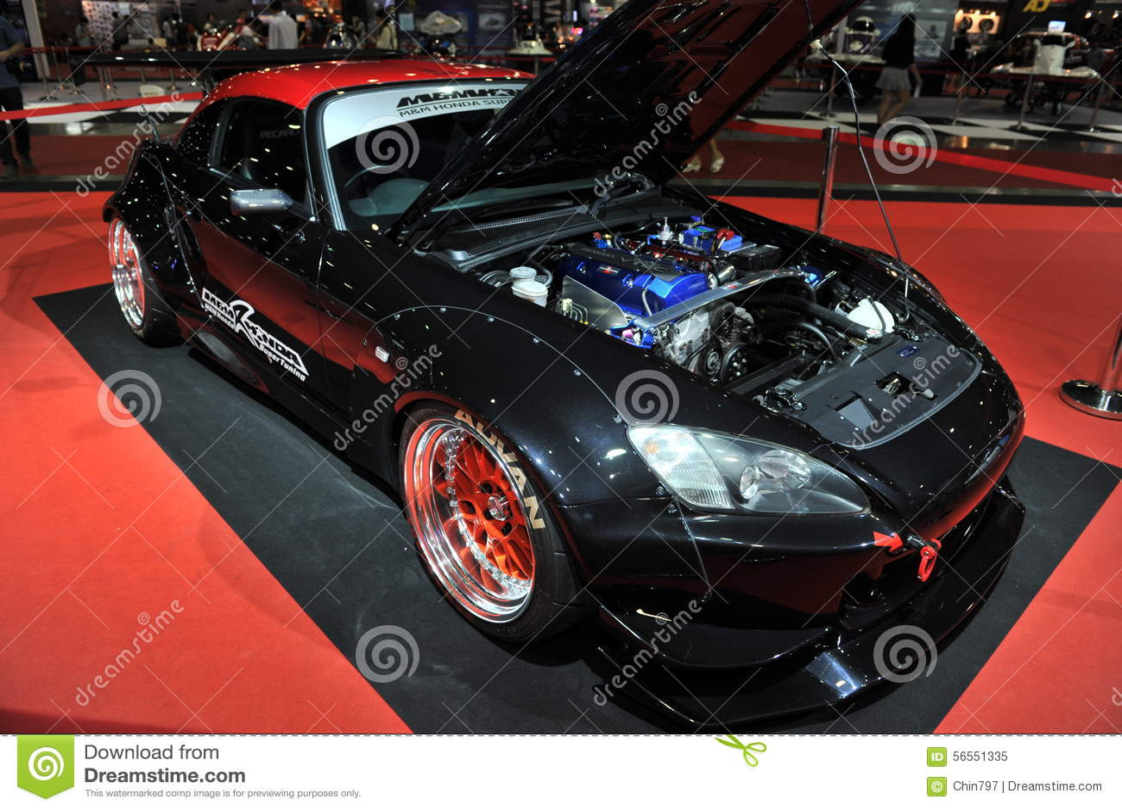 Download Αυτοκίνητο της Honda στο 3$ο διεθνές Autosalon 2015 της Μπανγκόκ στις 27 Ιουνίου 2015 στη Μπανγκόκ, Ταϊλάνδη Εκδοτική εικόνα - εικόνα από παρουσίαση, μοντέλο: 56551335