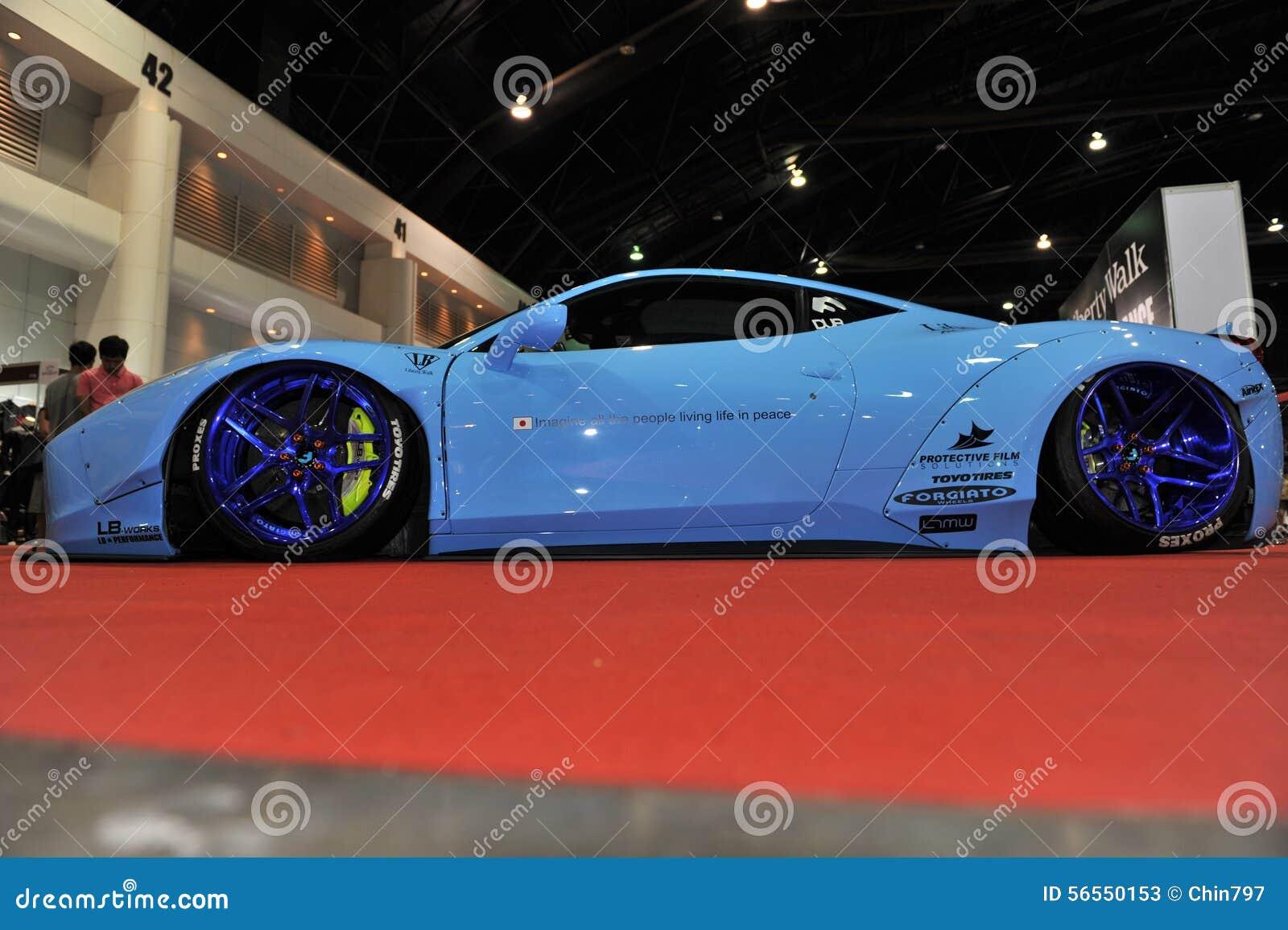 Download Αυτοκίνητο Lamborghini στο 3$ο διεθνές Autosalon 2015 της Μπανγκόκ στις 27 Ιουνίου 2015 στη Μπανγκόκ, Ταϊλάνδη Εκδοτική Στοκ Εικόνες - εικόνα από γεγονός, χαριτωμένος: 56550153