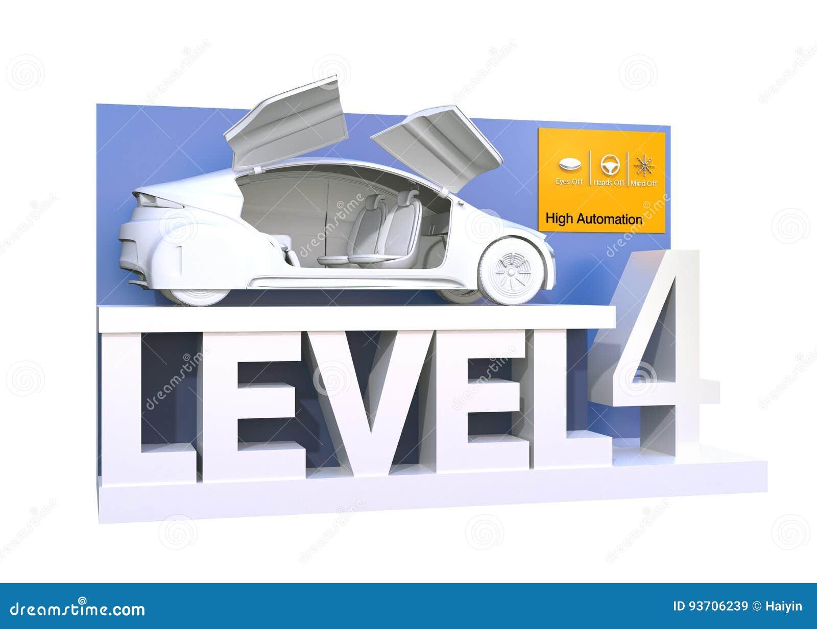 Αυτόνομη ταξινόμηση αυτοκινήτων του επιπέδου 4