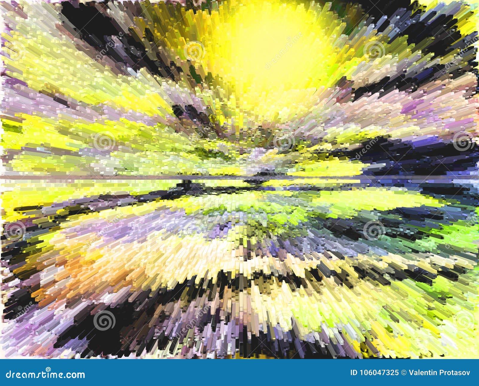 αφαίρεση Περίληψη ζωγραφική εικόνα σύσταση