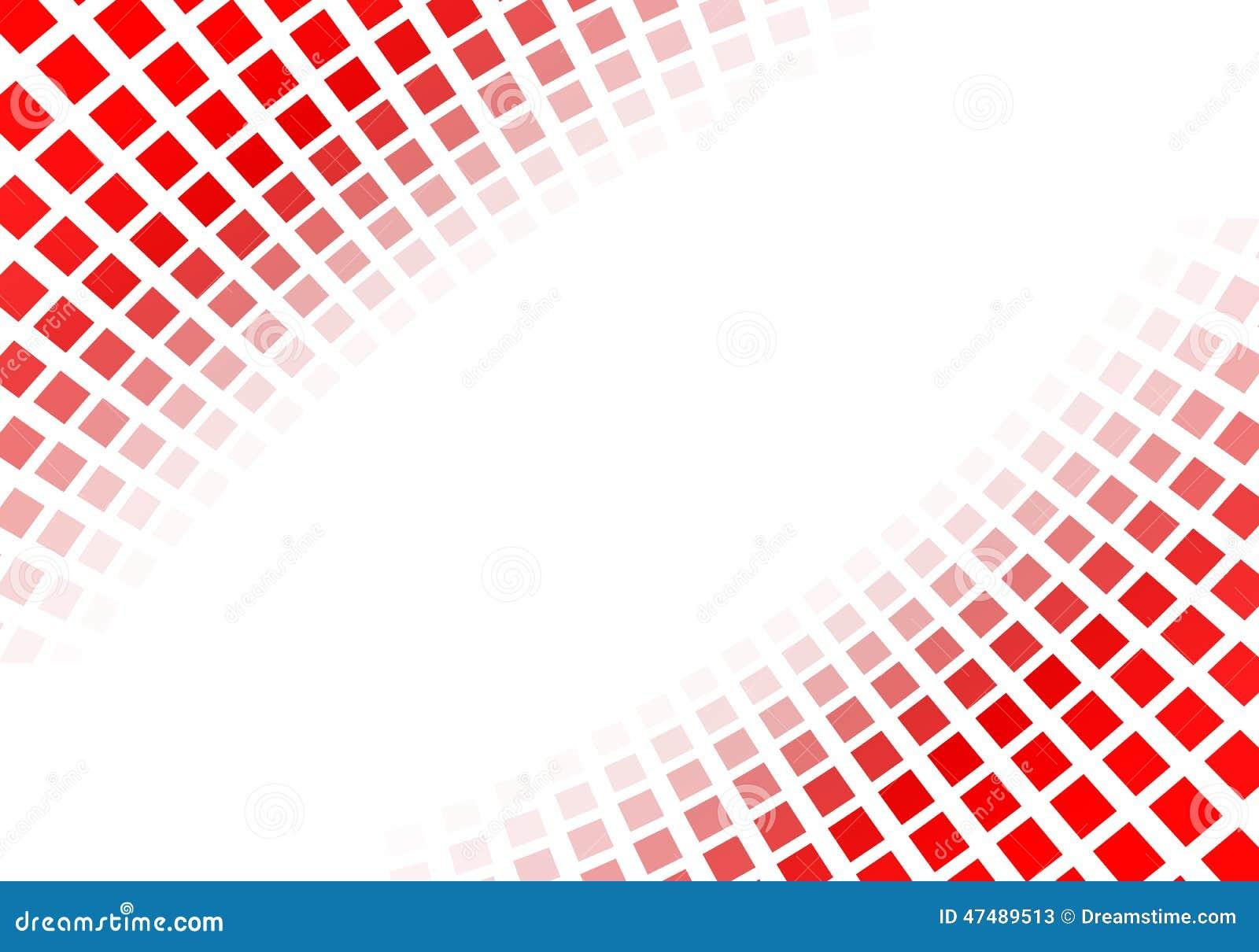 Αφηρημένα κόκκινα τετράγωνα