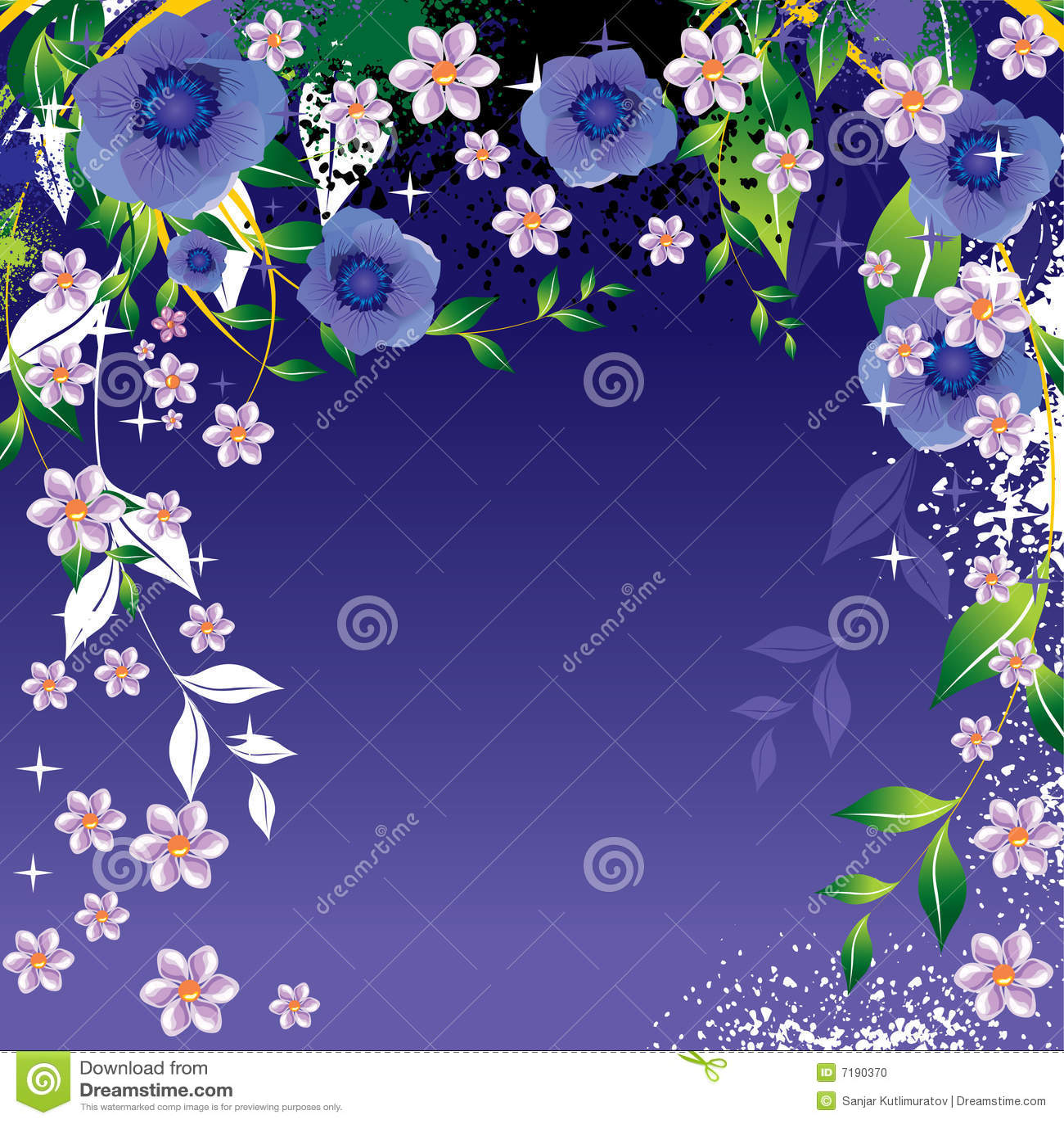 αφηρημένα λουλούδια ανα&si