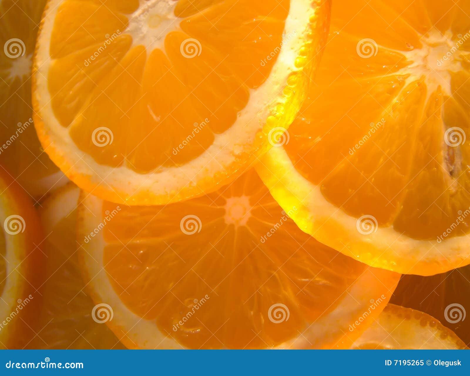 αφηρημένα πορτοκάλια ανασκόπησης
