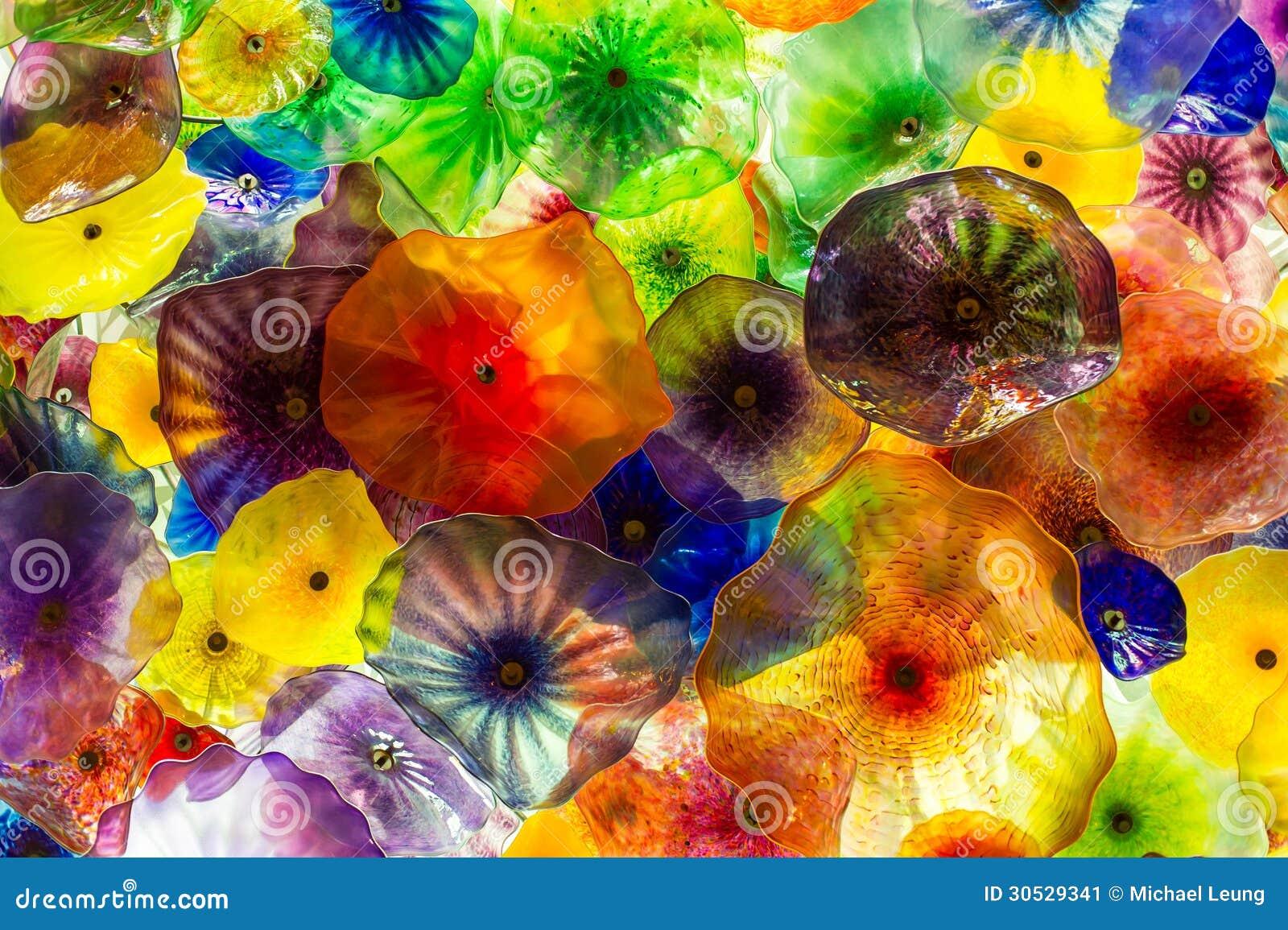 Αφηρημένα χρώματα γυαλιού