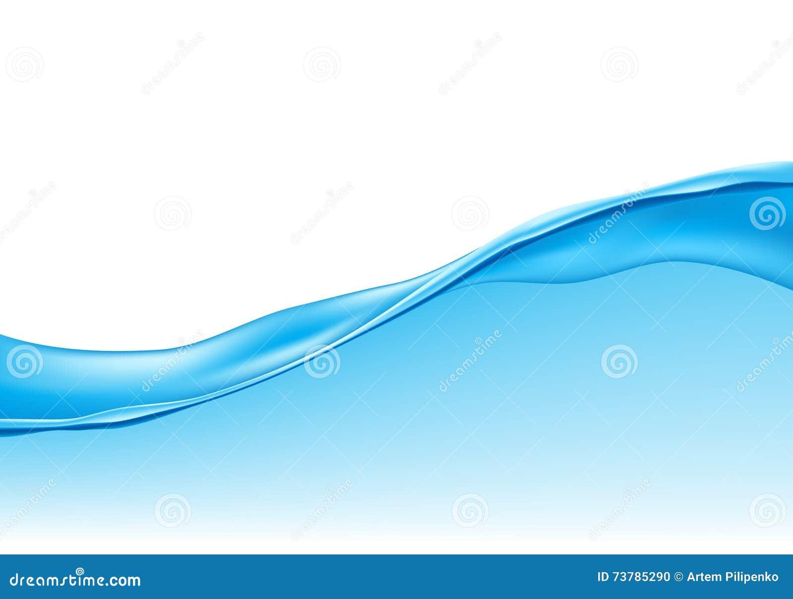 Αφηρημένη επιφάνεια κυμάτων νερού