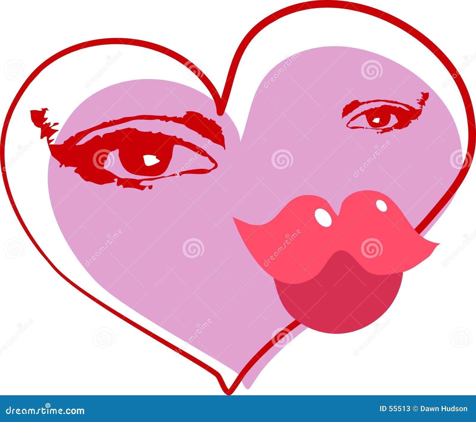 Download αφηρημένη καρδιά διανυσματική απεικόνιση. εικονογραφία από διακοπές - 55513