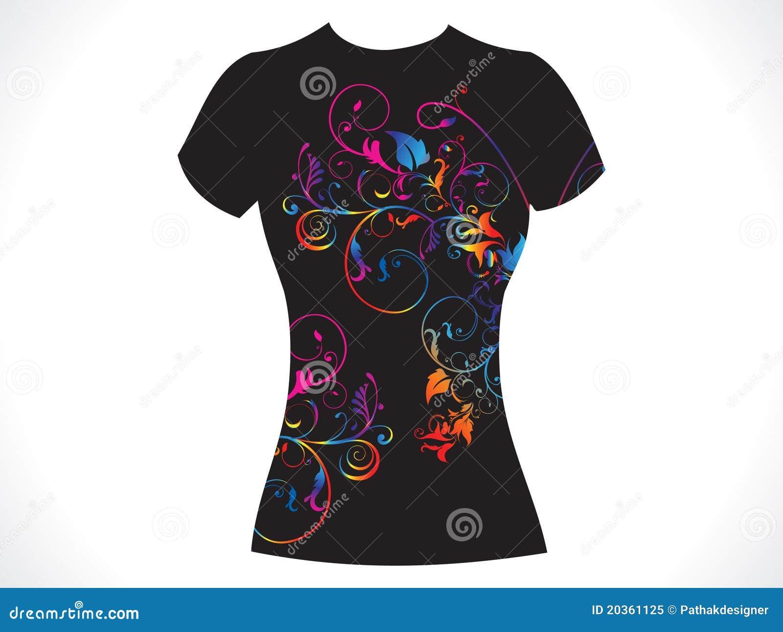 αφηρημένη μπλούζα κοριτσιώ&n