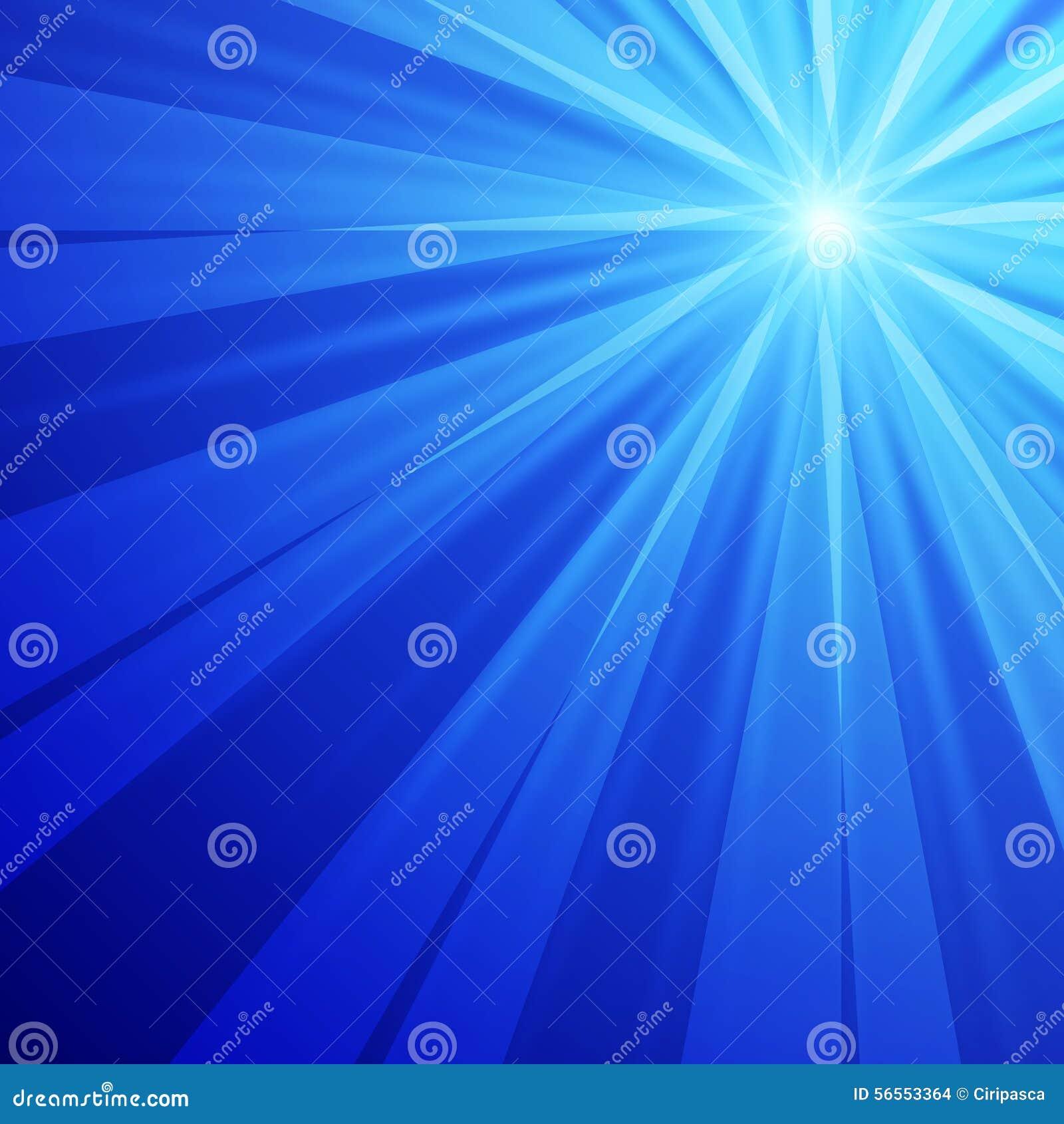Download Αφηρημένη μπλε ανασκόπηση διανυσματική απεικόνιση. εικονογραφία από αστραπή - 56553364