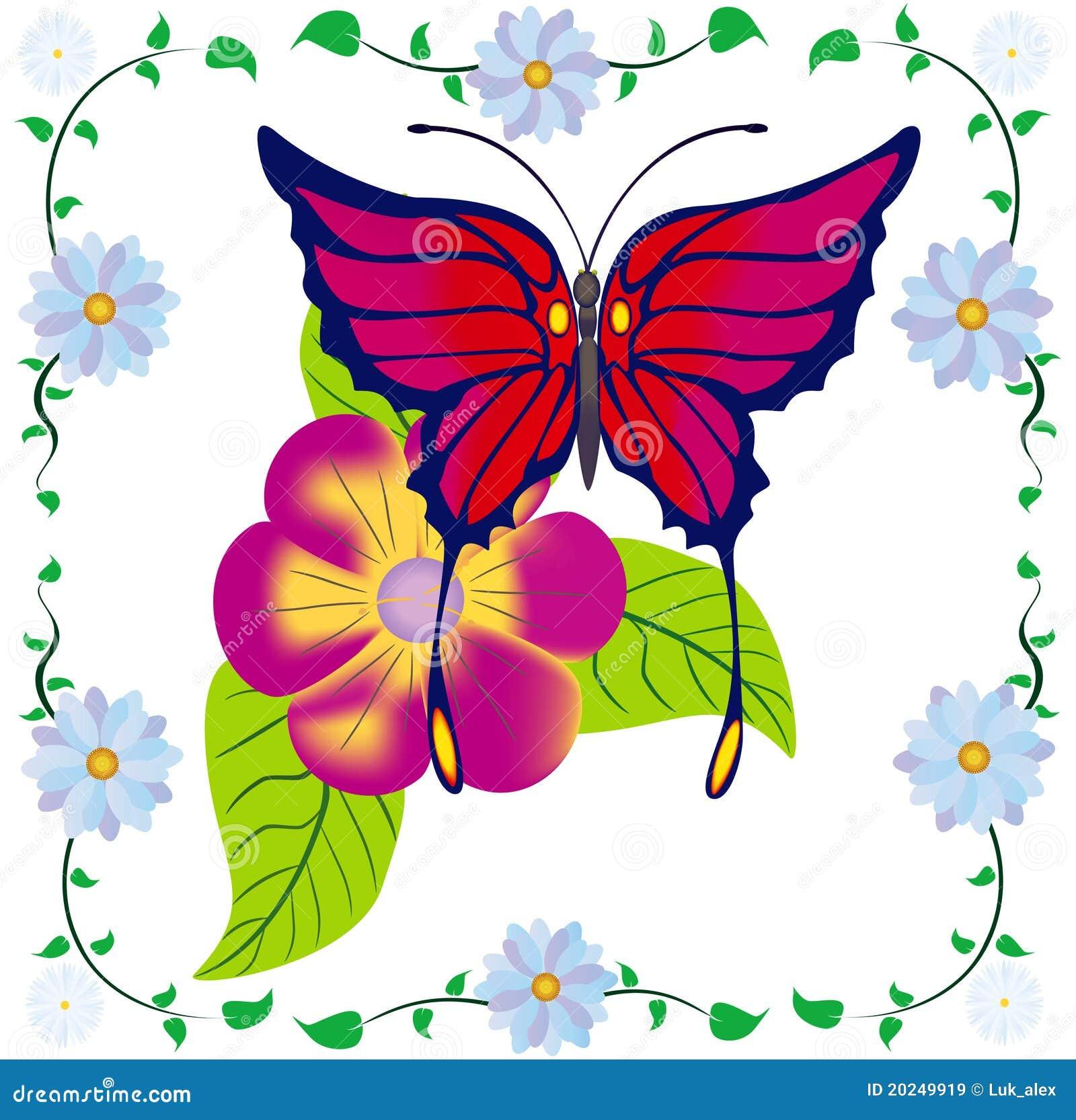 αφηρημένη πεταλούδα
