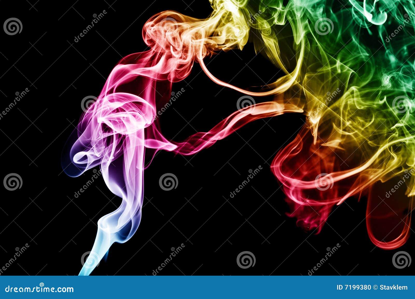 αφηρημένος καπνός ανασκόπη&s