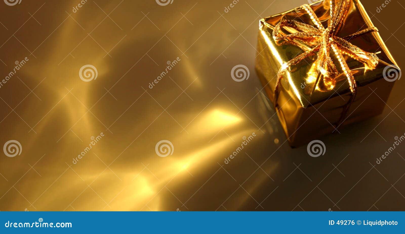 αφηρημένος χρυσός δώρων