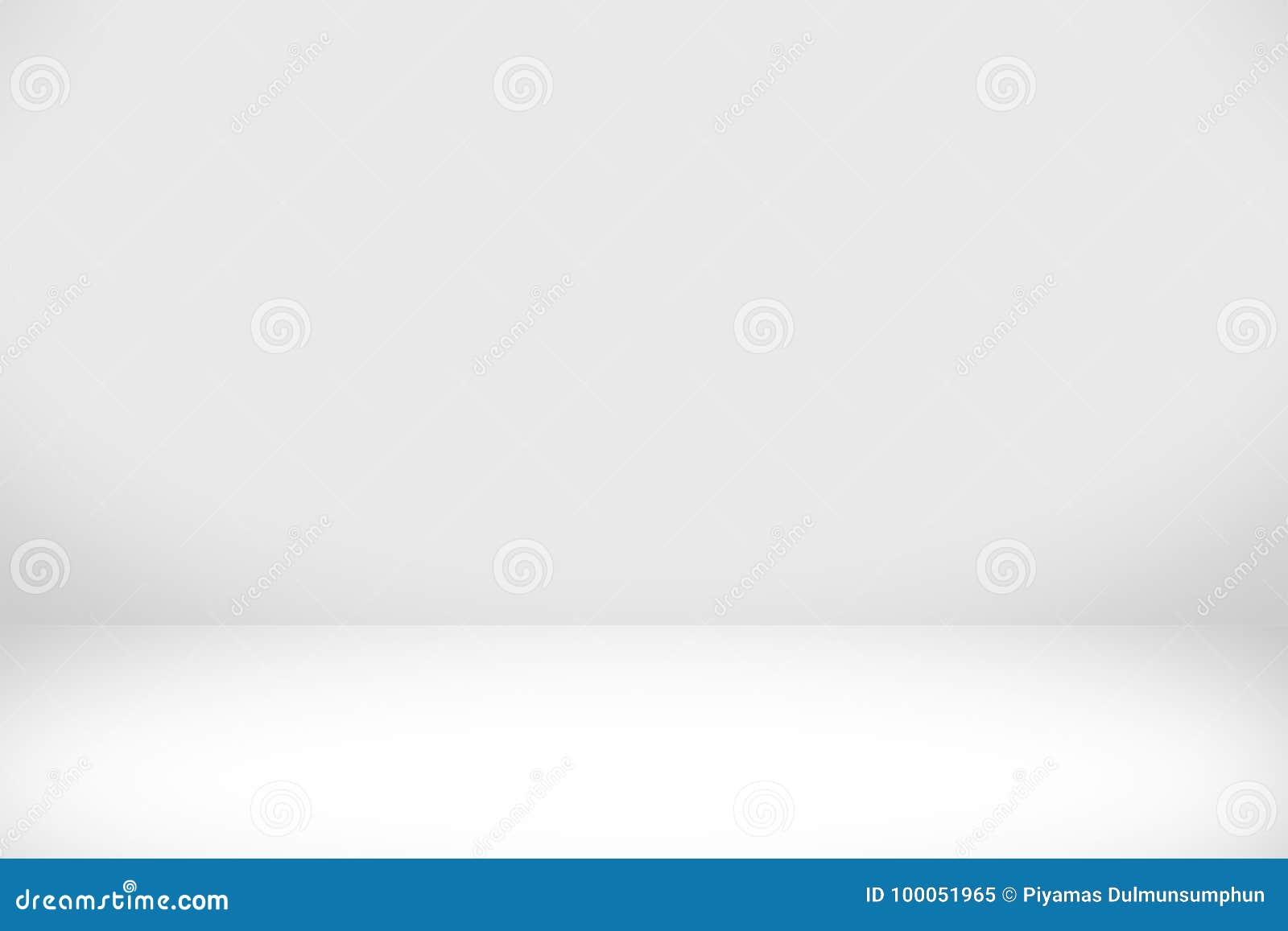 Αφηρημένο άσπρο υπόβαθρο με την άσπρη ελαφριά και γκρίζα σκιά
