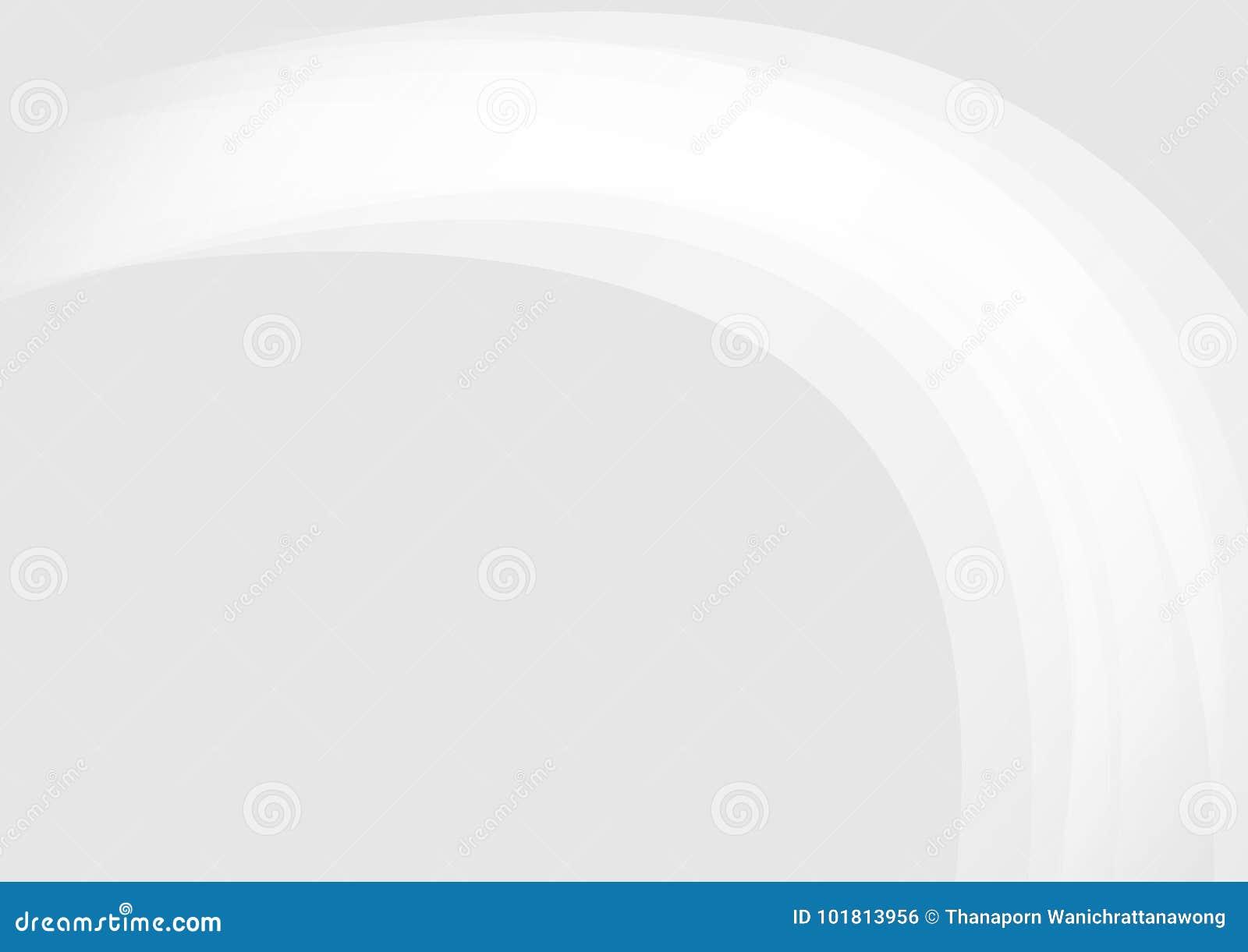 Αφηρημένο γκρίζο υπόβαθρο με το φως καμπυλών