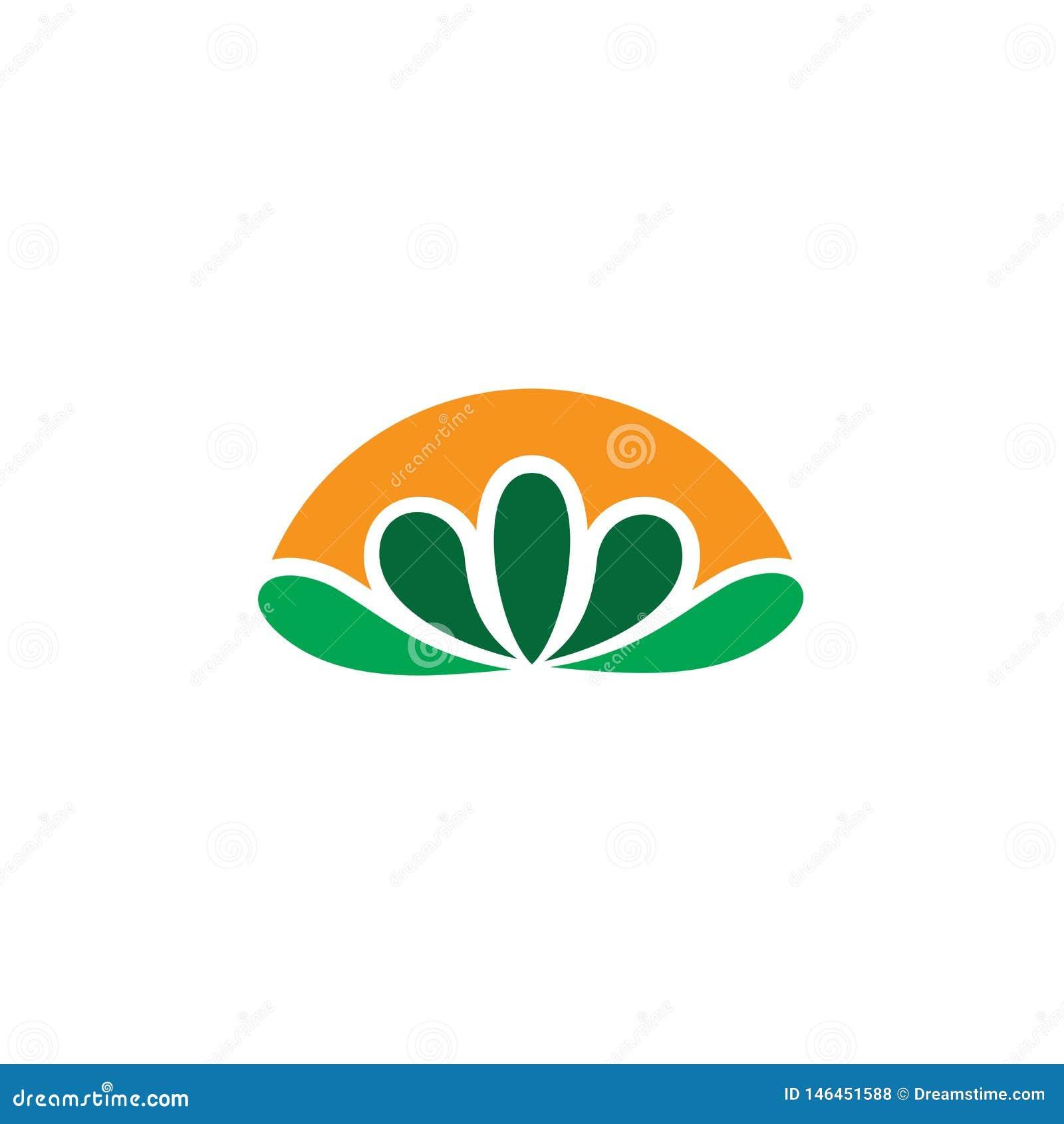 Αφηρημένο διάνυσμα λογότυπων eco φύλλων