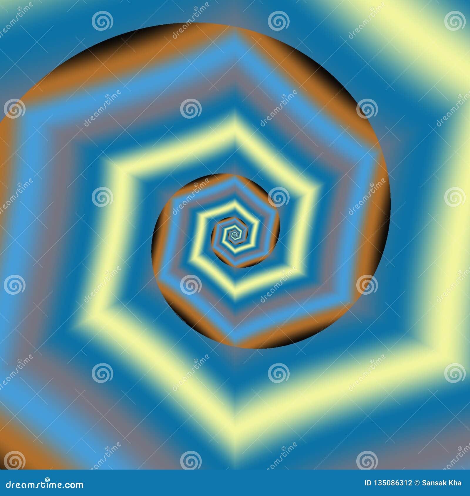 Αφηρημένο ζωηρόχρωμο σχέδιο υποβάθρου, μπλε, κίτρινος, μαύρο, πορτοκάλι