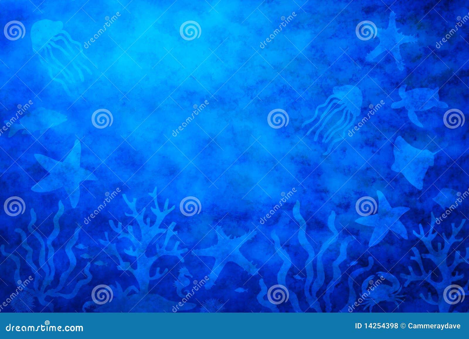 αφηρημένο θαλάσσιο νερό ζ&omeg