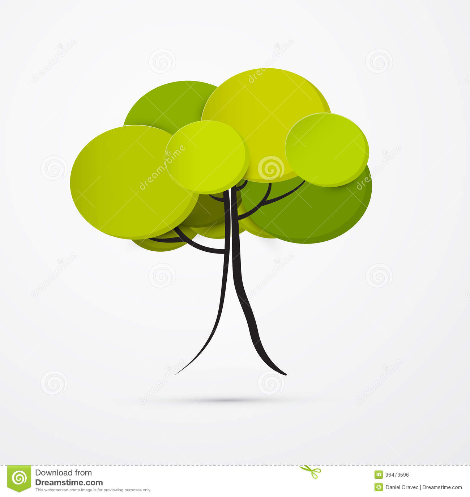 Αφηρημένο διανυσματικό δέντρο
