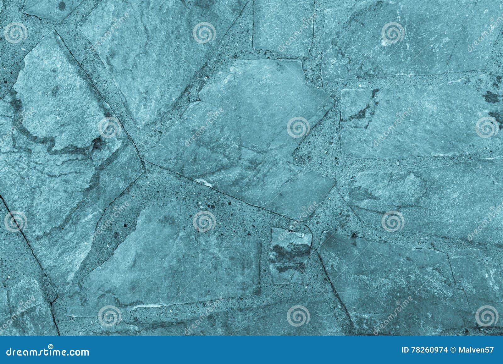 Αφηρημένο κατασκευασμένο υπόβαθρο ενός μπλε χρώματος κεραμιδιών πετρών