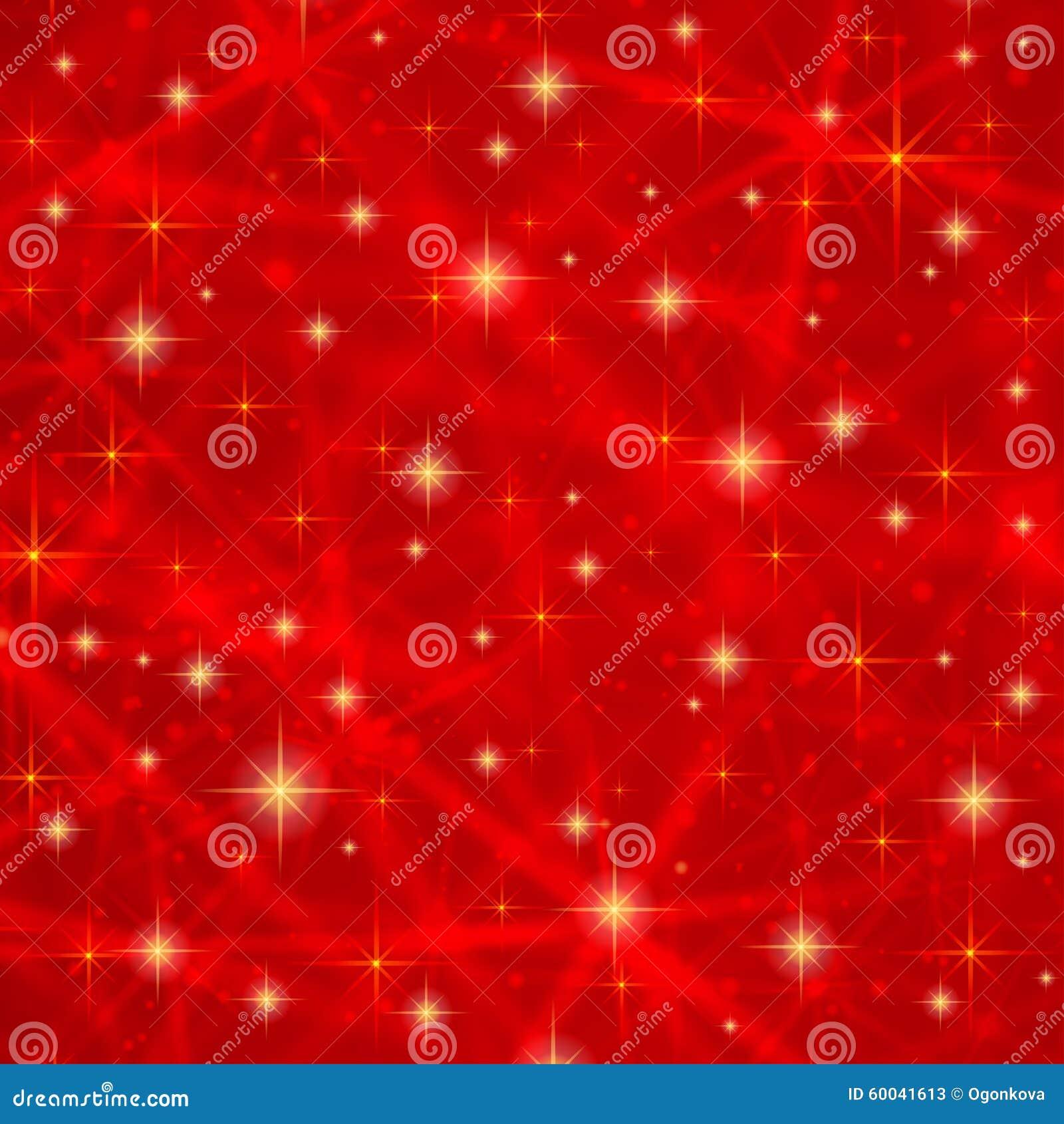 Αφηρημένο κόκκινο υπόβαθρο με τα λαμπιρίζοντας αστράφτοντας αστέρια Κοσμικός λαμπρός γαλαξίας (ατμόσφαιρα) Κενή σύσταση διακοπών
