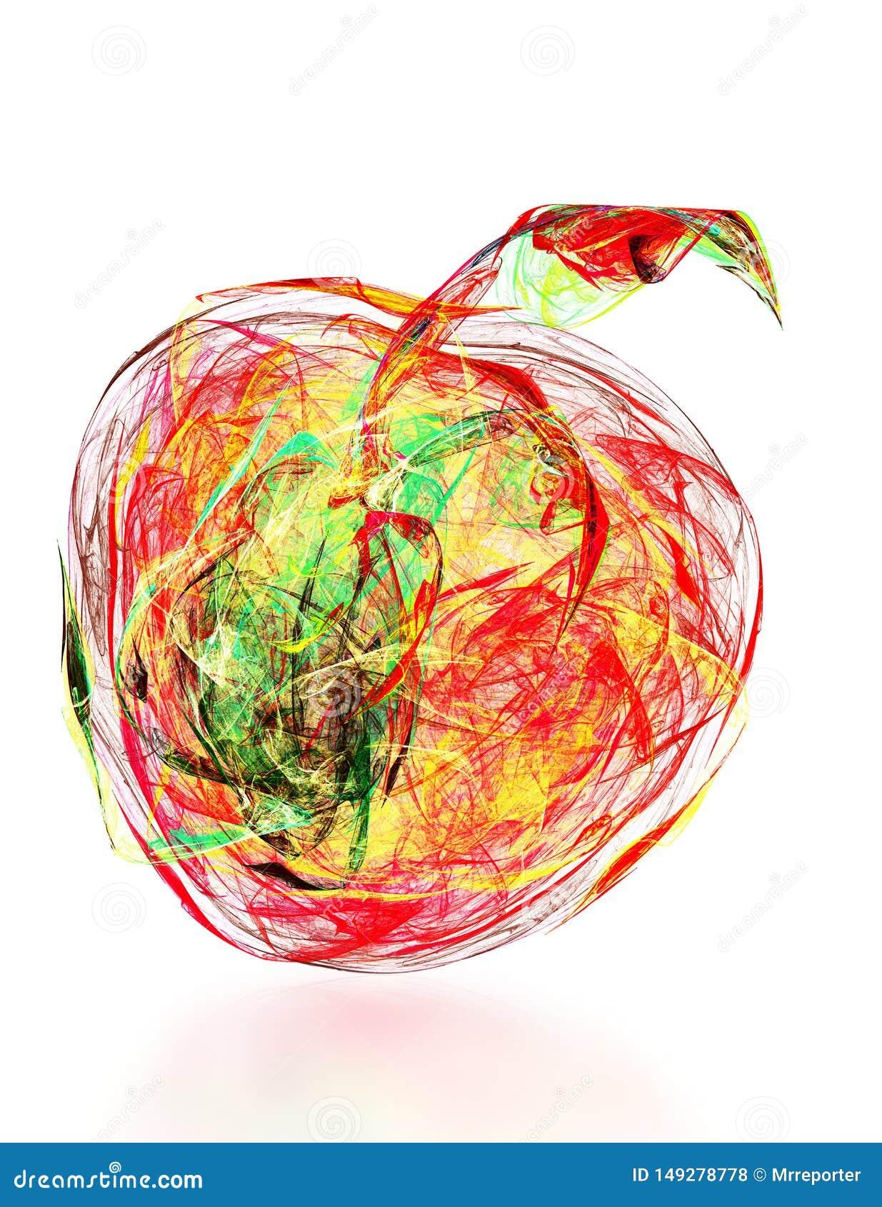 Αφηρημένο μήλο