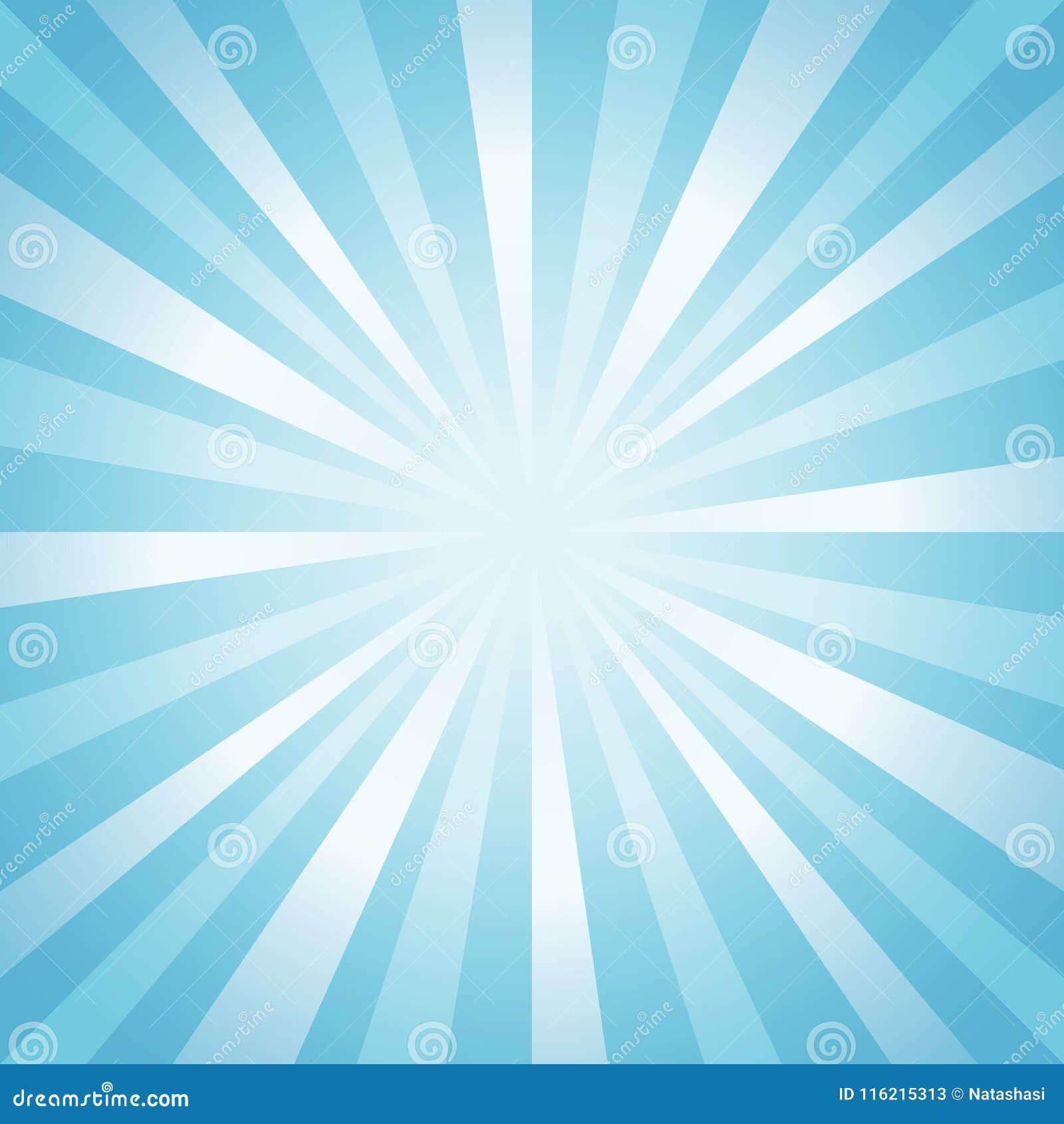 Αφηρημένο μαλακό ανοικτό μπλε υπόβαθρο ακτίνων διάνυσμα